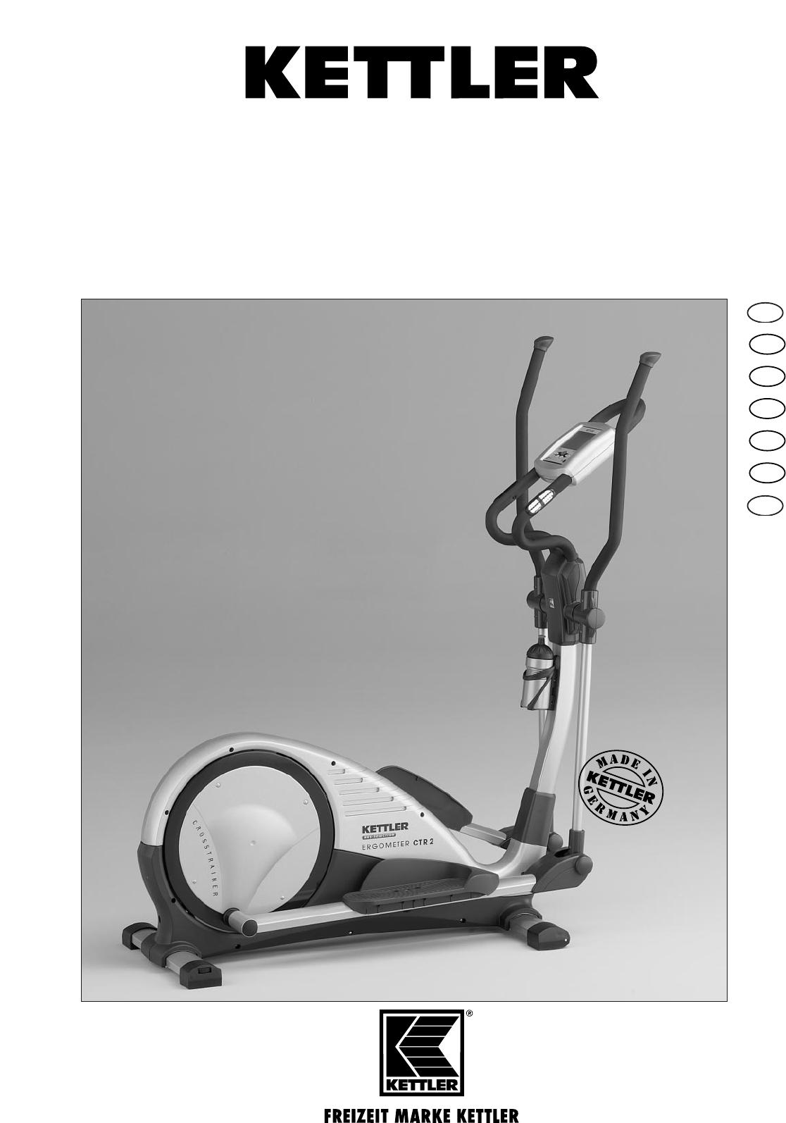 bedienungsanleitung kettler ctr 2 07862 000 seite 1 von 24 deutsch englisch spanisch. Black Bedroom Furniture Sets. Home Design Ideas
