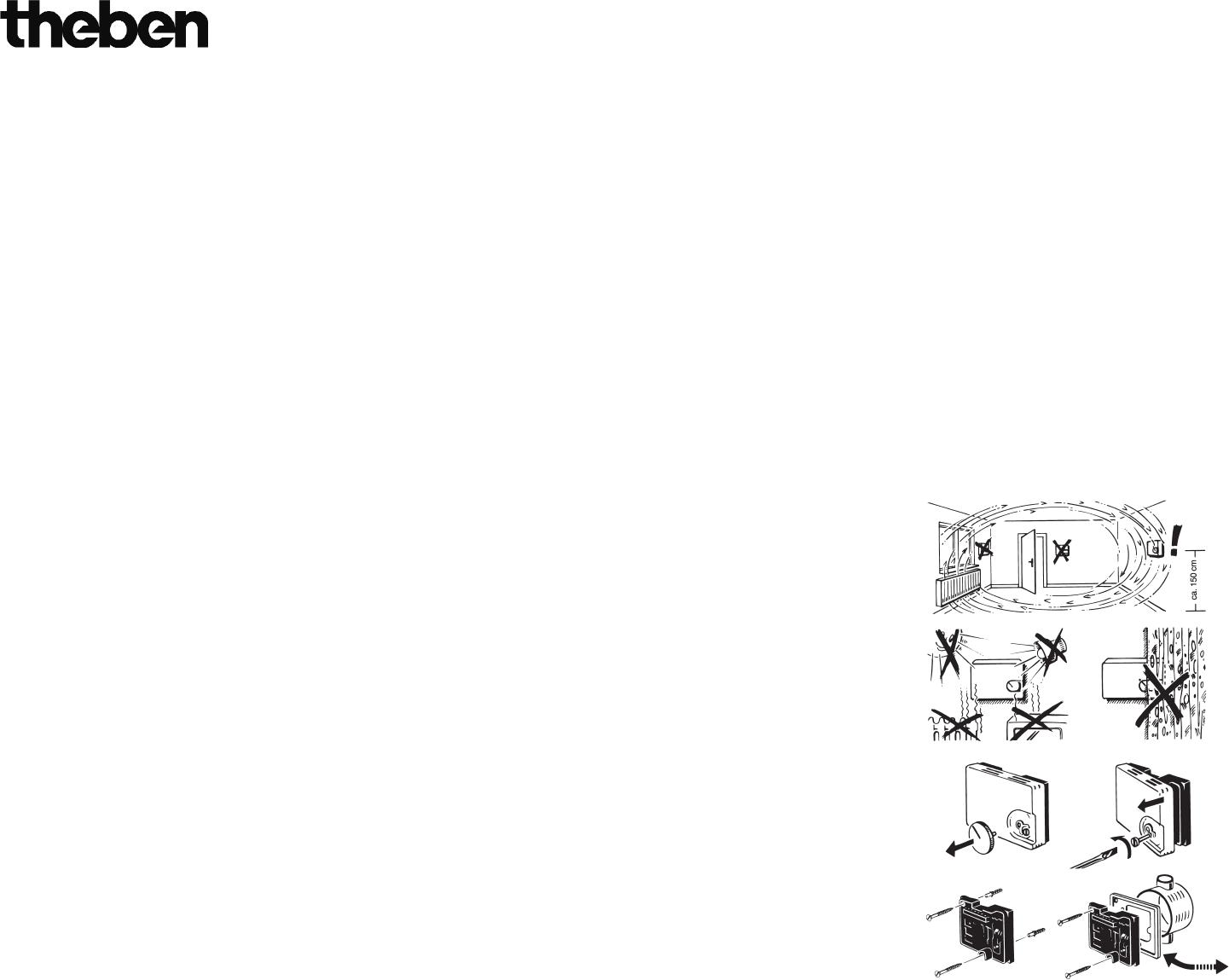 bedienungsanleitung theben ramses 701 seite 1 von 2. Black Bedroom Furniture Sets. Home Design Ideas