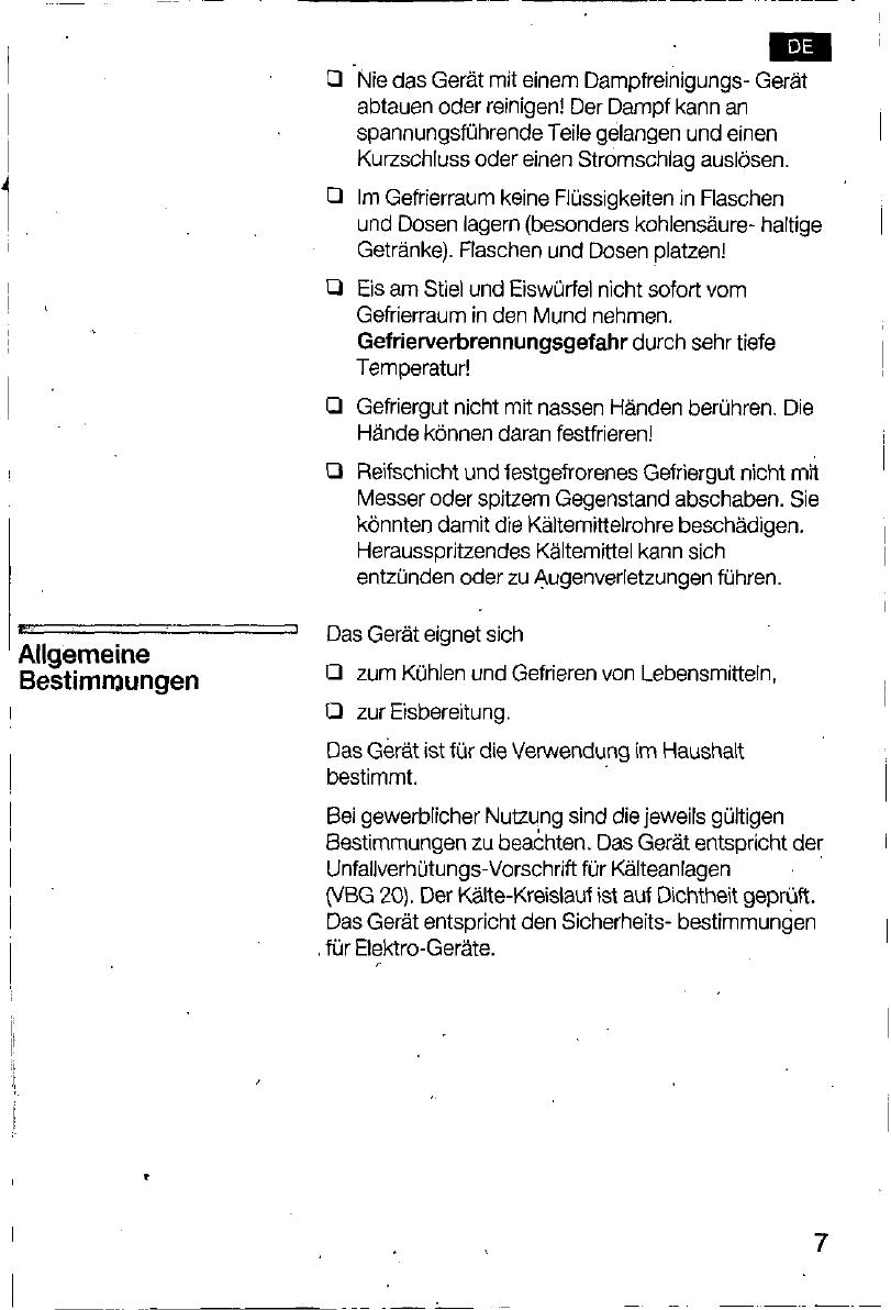 Bedienungsanleitung Bosch kfl 24440 (Seite 7 von 116) (Deutsch ...