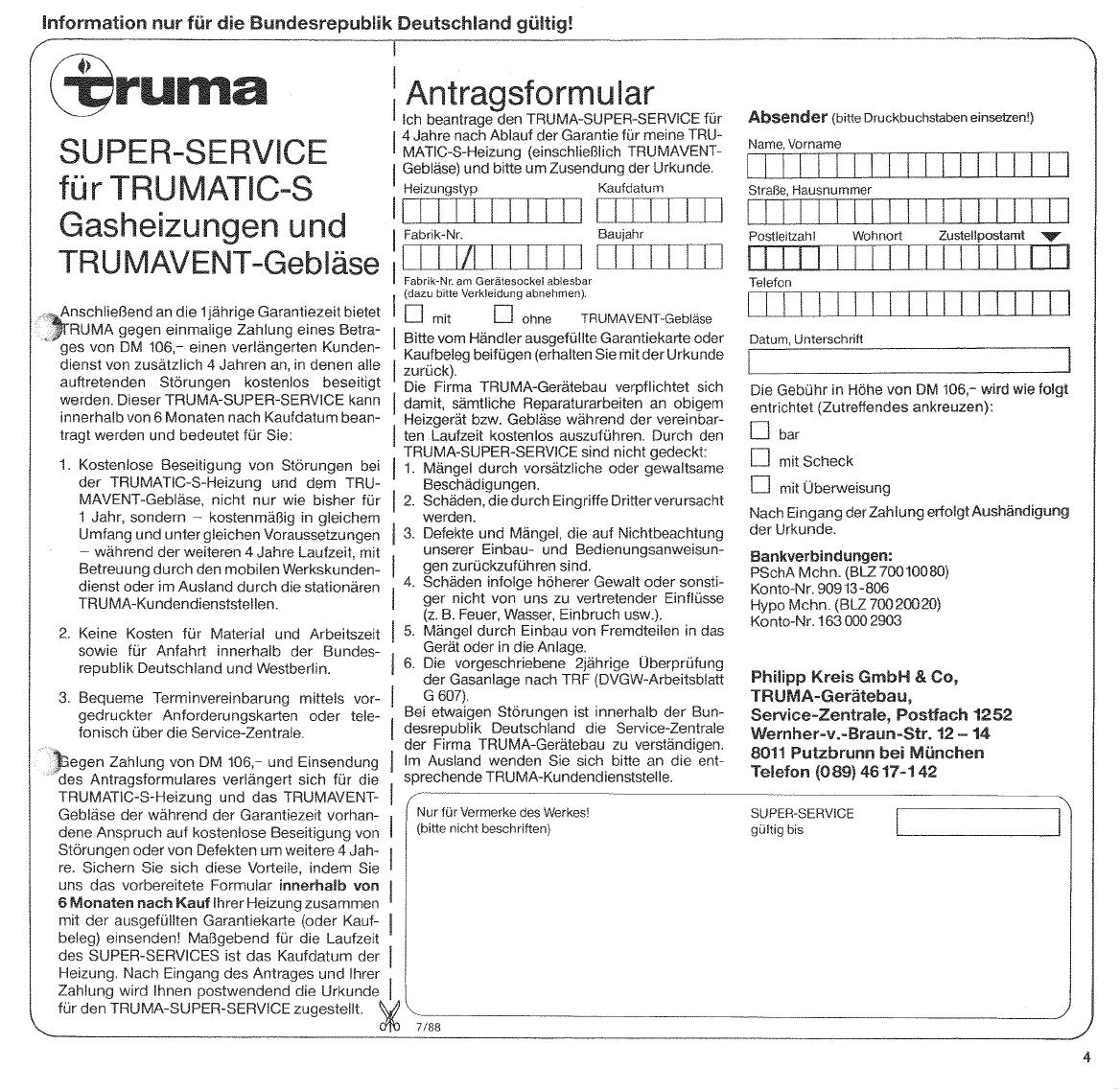 Bedienungsanleitung Trumatic Sl3002 Seite 7 Von 18