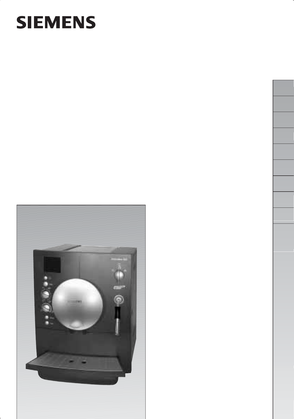 bedienungsanleitung siemens tk60001 surpresso s20 seite 1. Black Bedroom Furniture Sets. Home Design Ideas