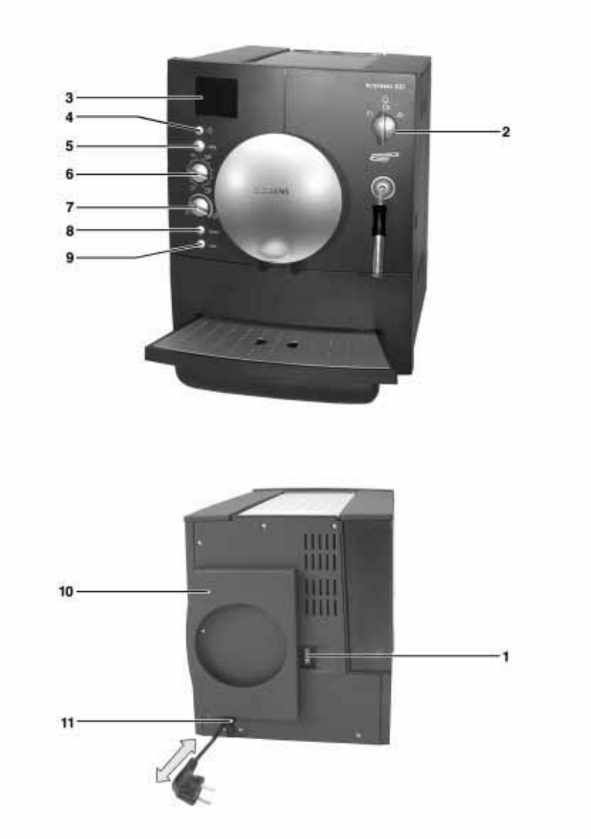 bedienungsanleitung siemens tk60001 surpresso s20 seite 3. Black Bedroom Furniture Sets. Home Design Ideas