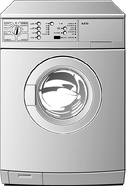 bedienungsanleitung aeg electrolux lavamat 74720 seite 1 von 53 holl ndisch. Black Bedroom Furniture Sets. Home Design Ideas
