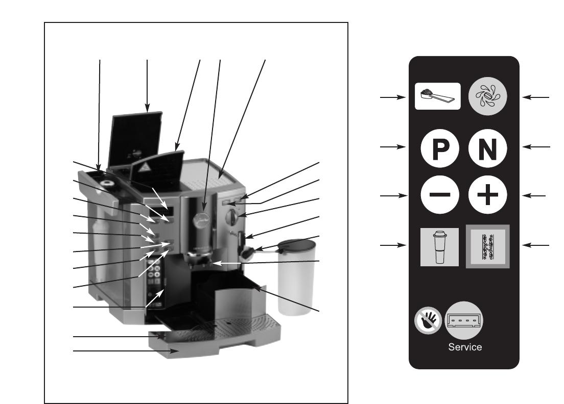 bedienungsanleitung jura impressa s9 seite 4 von 23. Black Bedroom Furniture Sets. Home Design Ideas