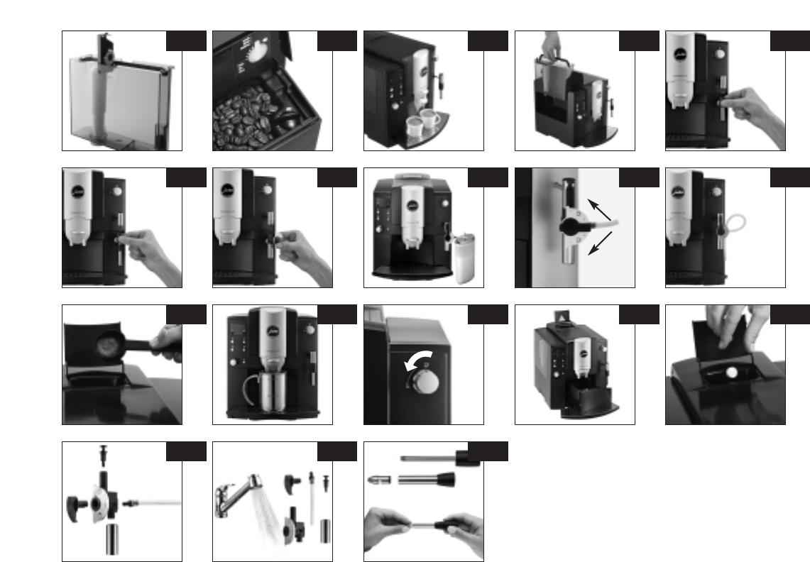 bedienungsanleitung jura impressa e85 seite 3 von 25 deutsch. Black Bedroom Furniture Sets. Home Design Ideas