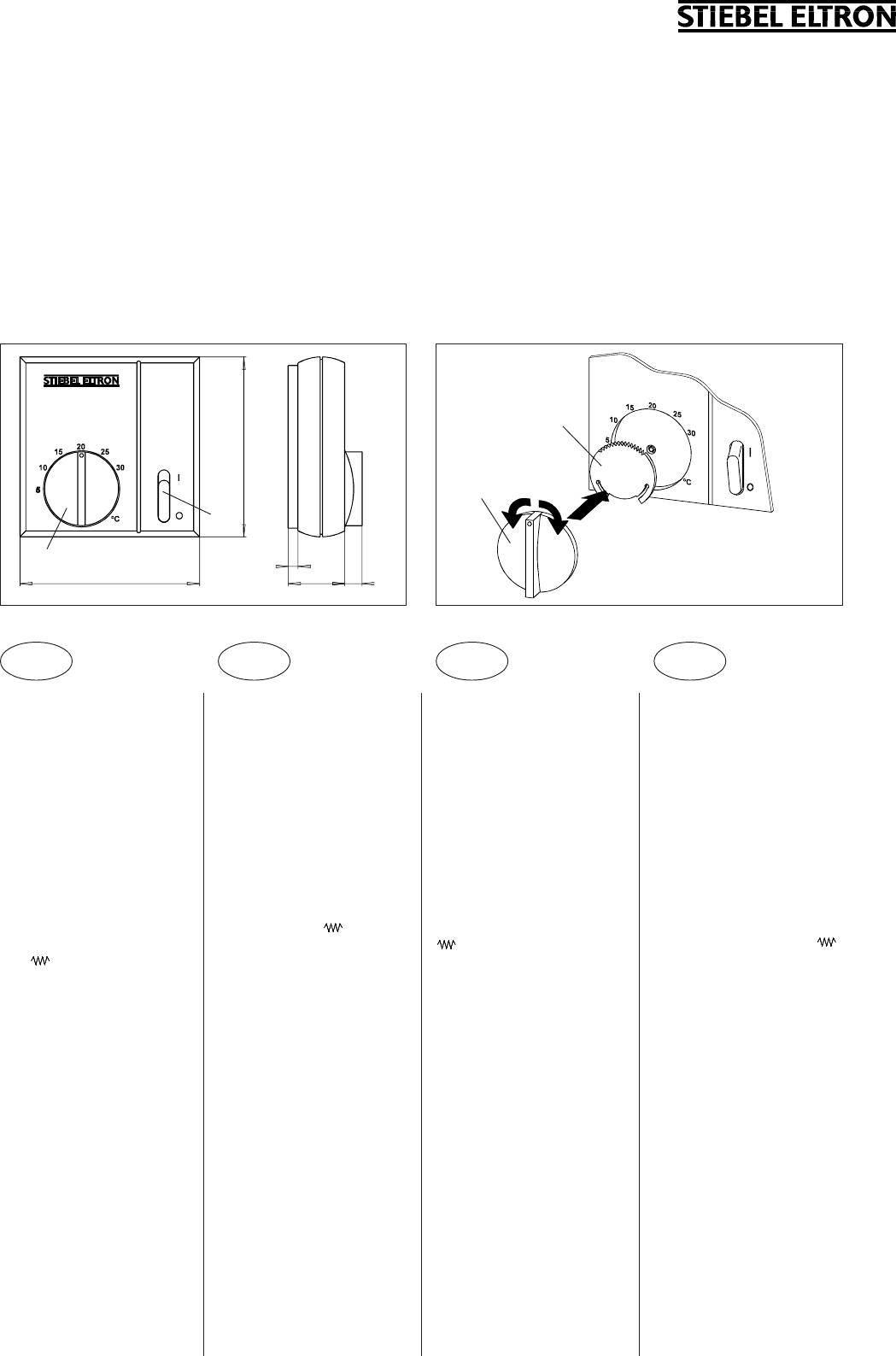 bedienungsanleitung stiebel eltron rtu s seite 1 von 2 deutsch englisch franz sisch. Black Bedroom Furniture Sets. Home Design Ideas