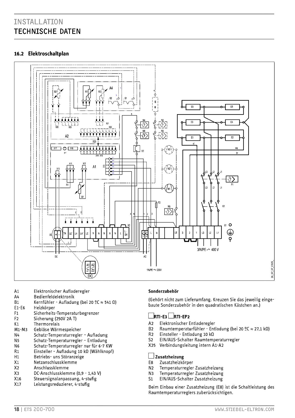 bedienungsanleitung stiebel eltron ets700 seite 18 von 132 deutsch englisch franz sisch. Black Bedroom Furniture Sets. Home Design Ideas