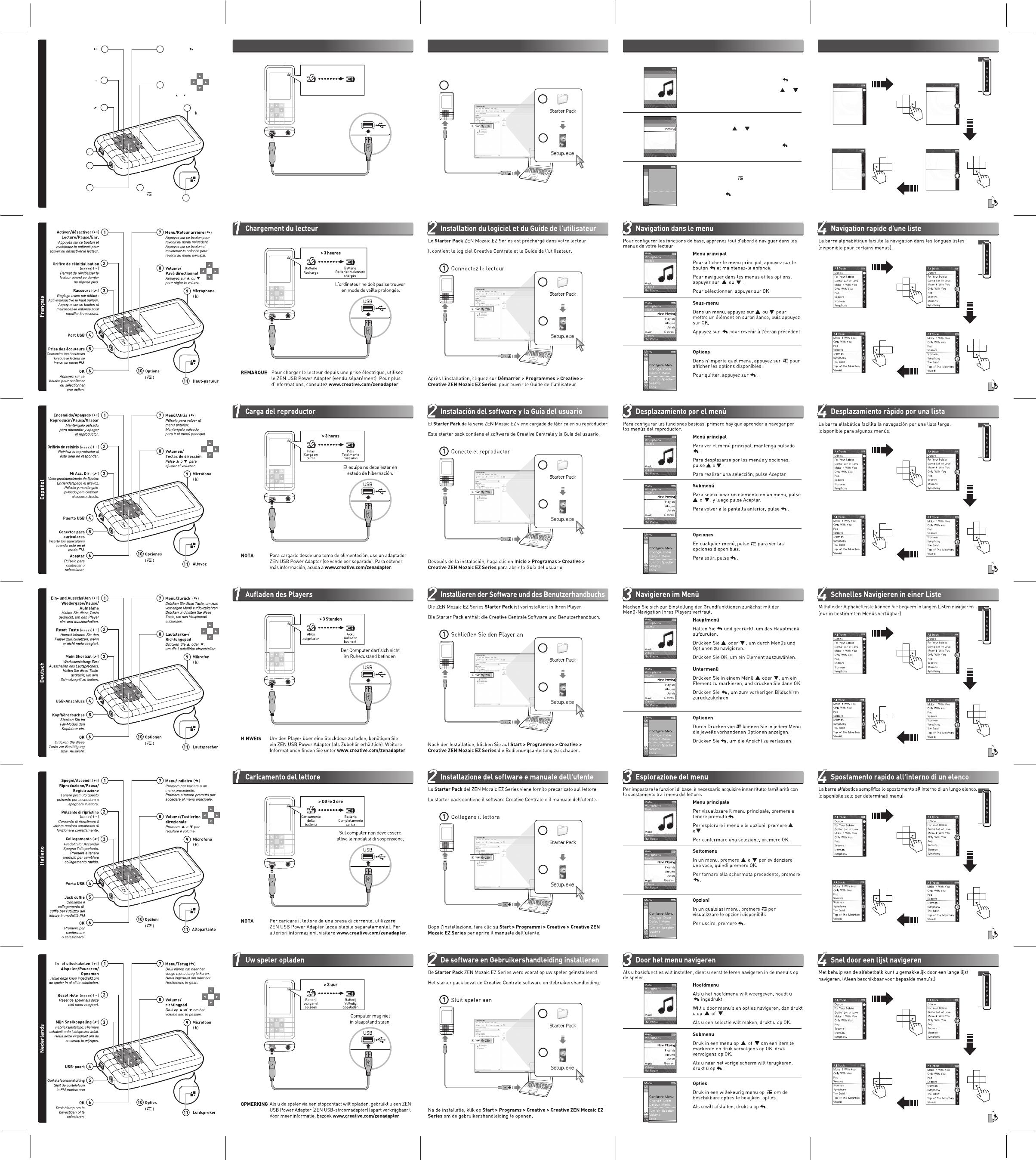 bedienungsanleitung creative zen mozaic ez100 seite 1 von 1 rh libble de user manual creative zen mozaic ez300 creative zen mozaic mp3 player manual