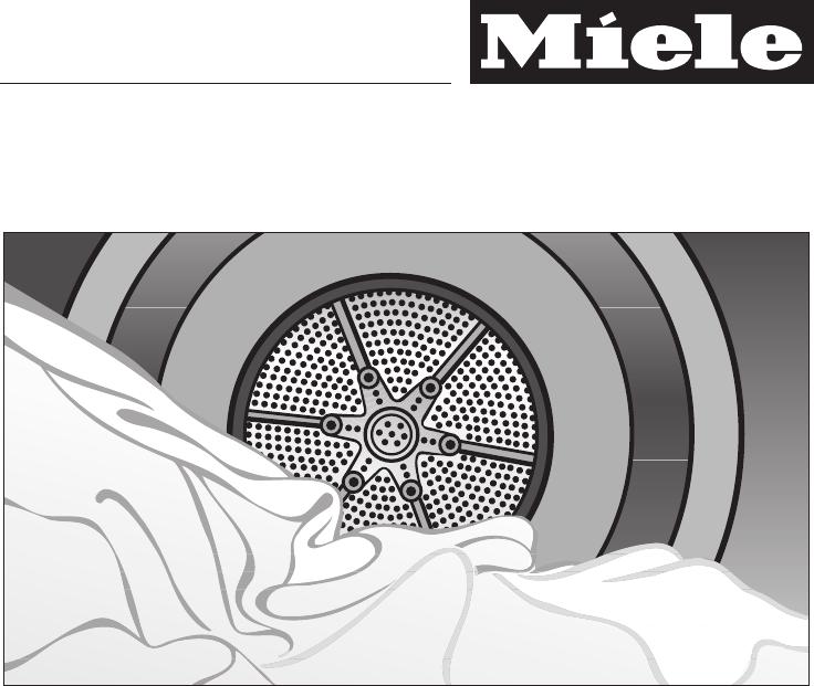 bedienungsanleitung miele t7744c seite 1 von 60 deutsch. Black Bedroom Furniture Sets. Home Design Ideas