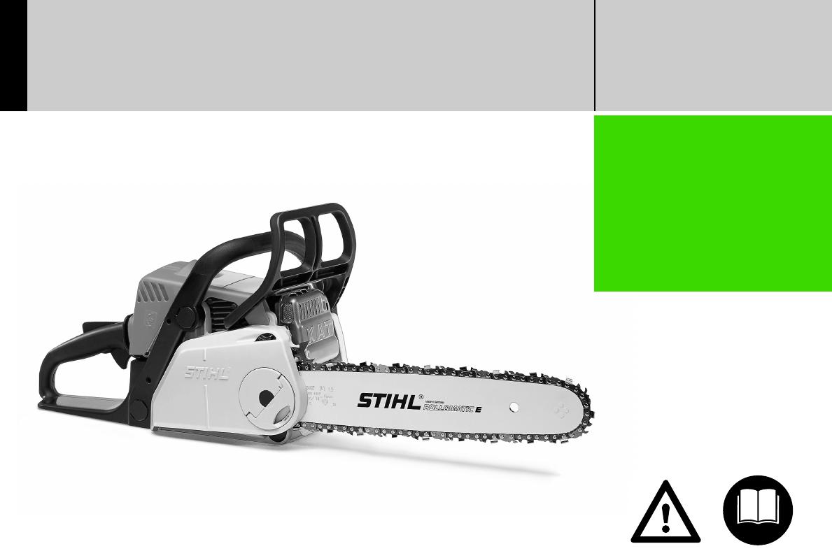 stihl ms 170 instruction manual