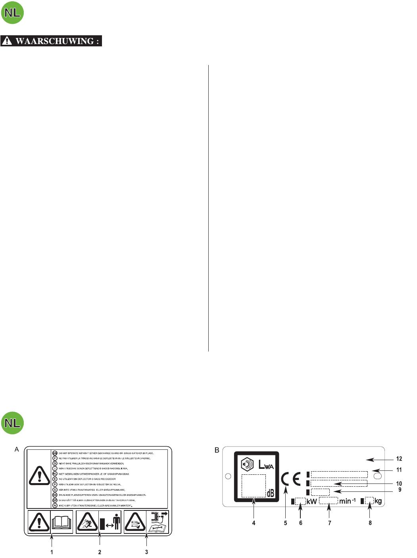 Be nungsanleitung Honda HRG415C Seite 12 von 16 Deutsch