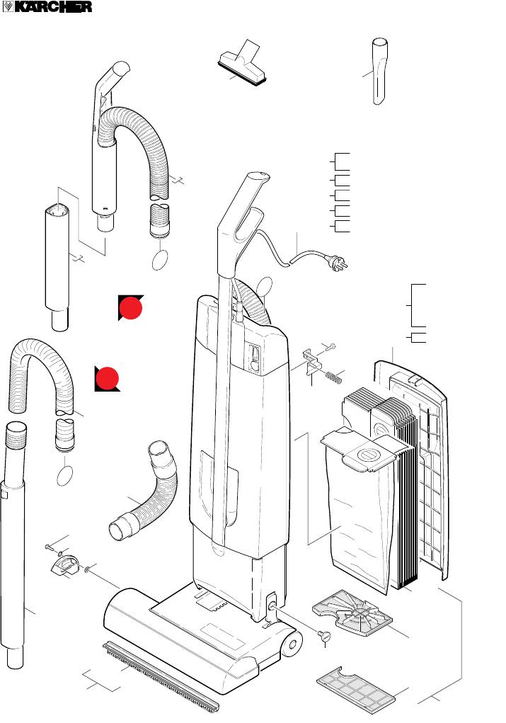 Bedienungsanleitung Karcher CW50 (Seite 123 von 123