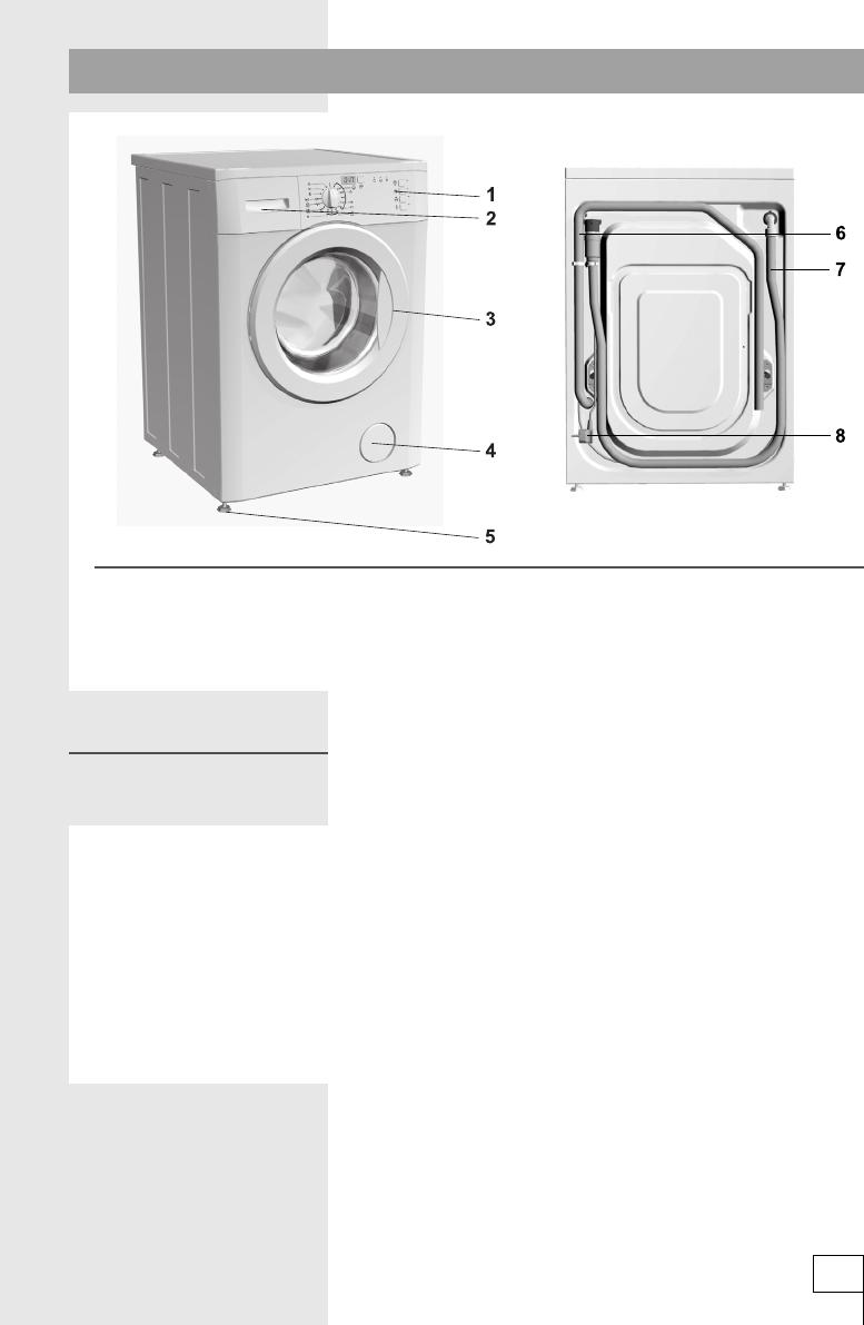 bedienungsanleitung gorenje wa 50149 seite 3 von 32 deutsch. Black Bedroom Furniture Sets. Home Design Ideas