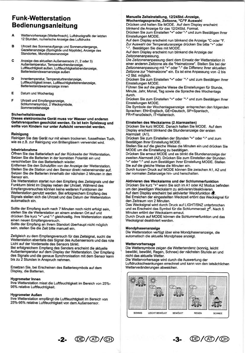 Bedienungsanleitung Auriol 4 Ld2630 Seite 1 Von 14 Deutsch