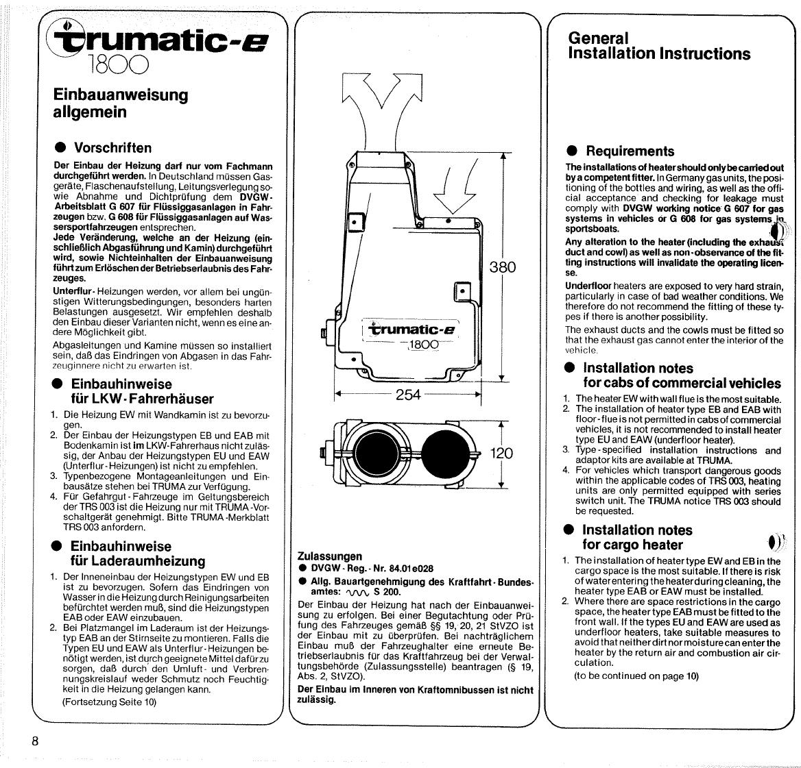 Bedienungsanleitung Trumatic E 1800 (Seite 10 von 32) (Deutsch ...