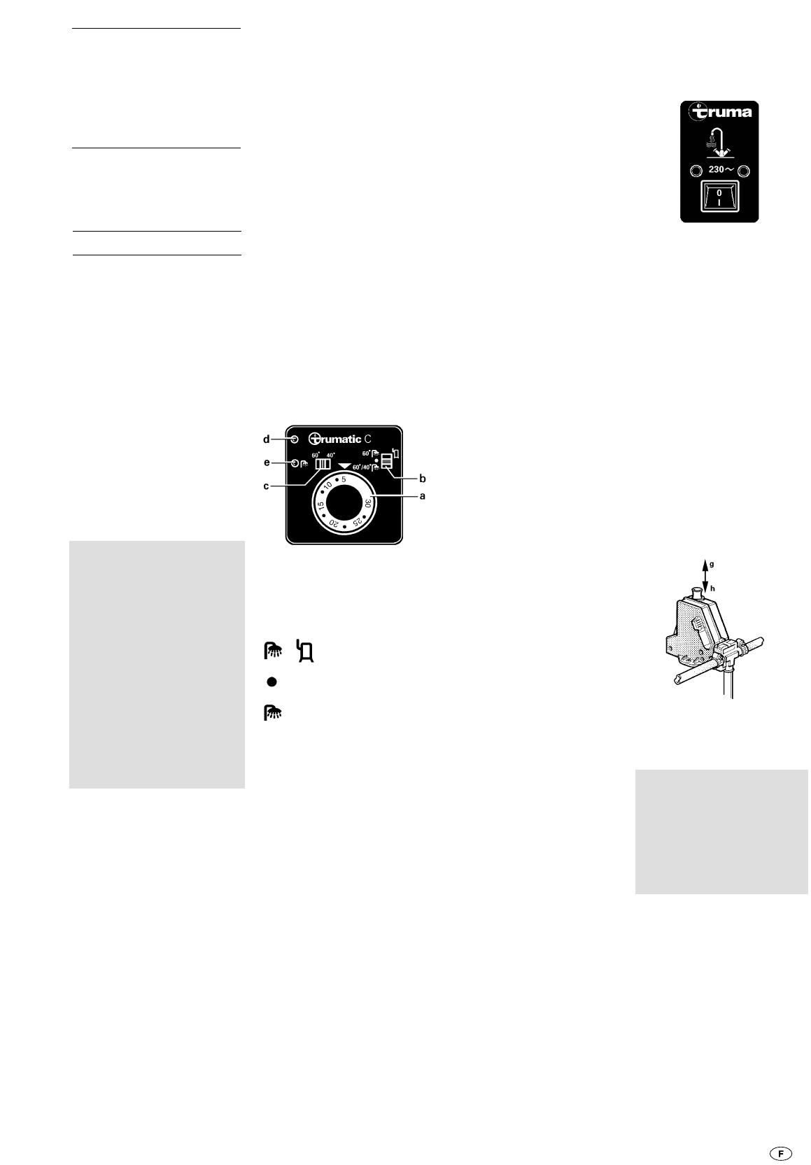 Bedienungsanleitung Trumatic C 3402 (Seite 7 von 28) (Dänisch ...