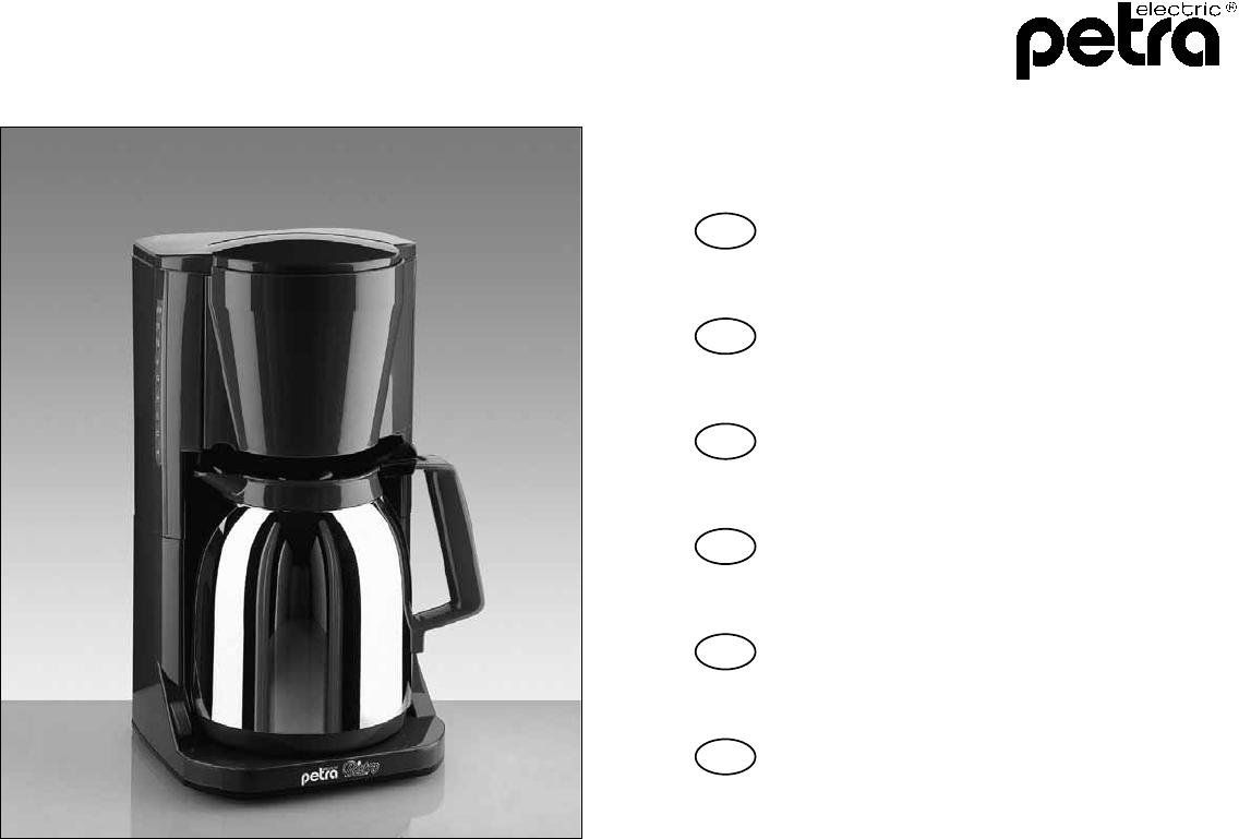 bedienungsanleitung petra km97 seite 1 von 16 deutsch. Black Bedroom Furniture Sets. Home Design Ideas