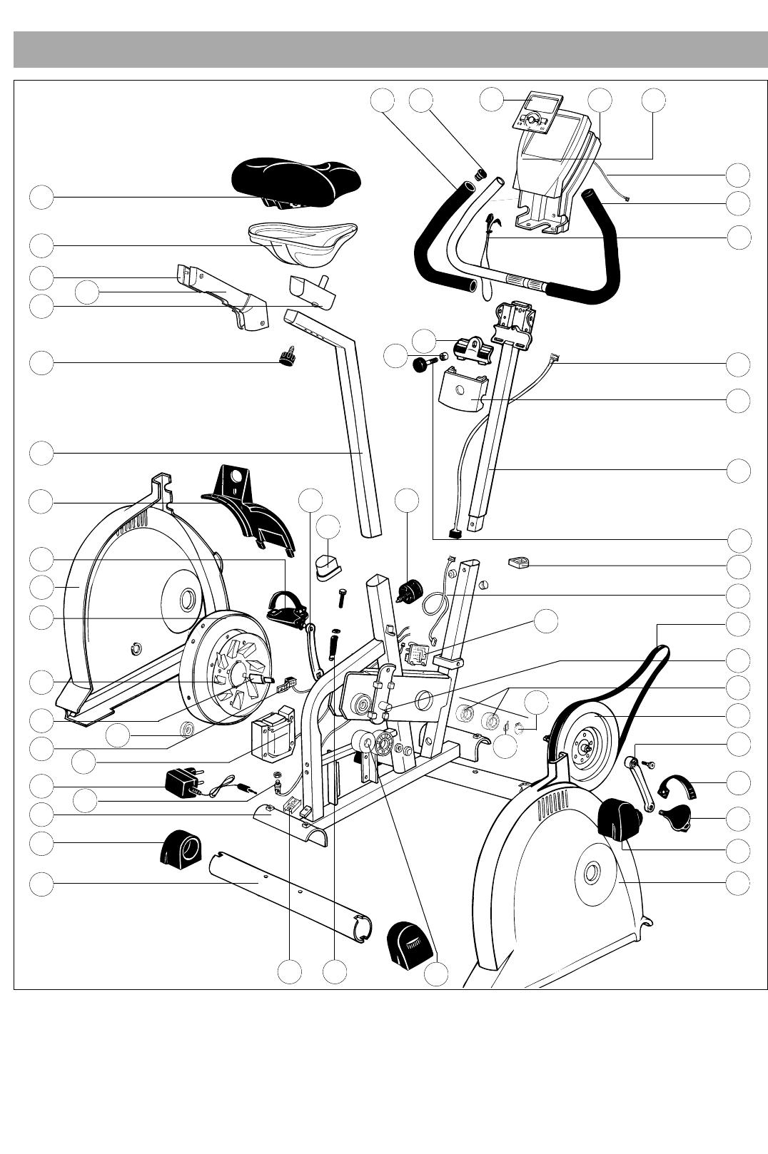 Bedienungsanleitung Kettler Ergometer CX 1 7987-500 (Seite 33 von 34 ...
