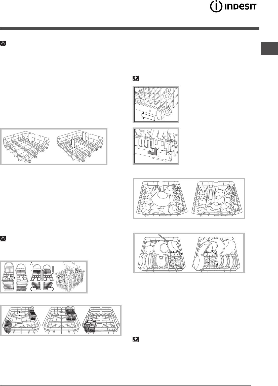 Bedienungsanleitung Indesit DIF 14 A (Seite 41 von 80) (Deutsch ...