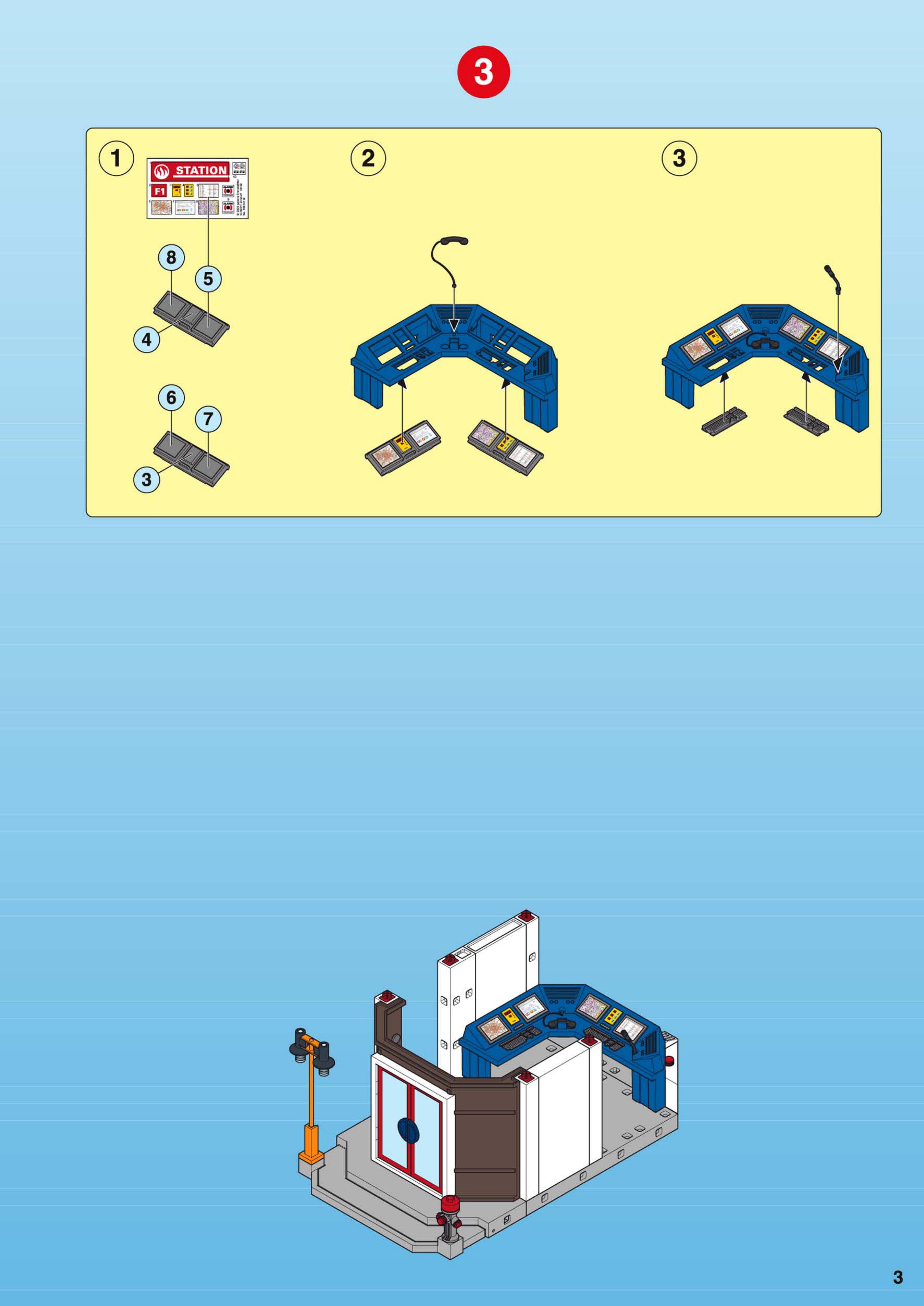 Bedienungsanleitung Playmobil 4819 Seite 2 Von 12 Dänisch
