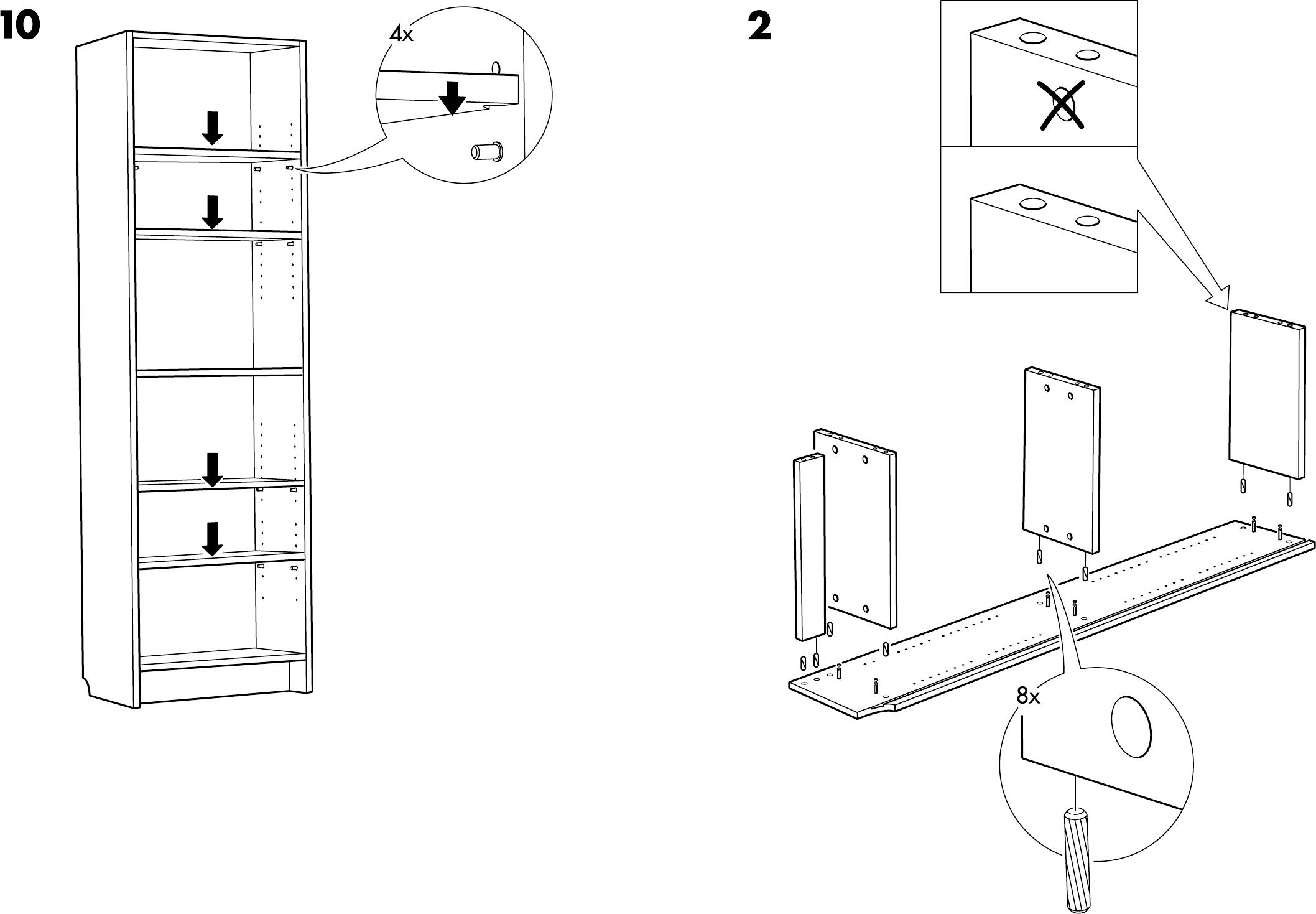 ikea billy boekenkast seite von d nisch with afmetingen billy boekenkast. Black Bedroom Furniture Sets. Home Design Ideas