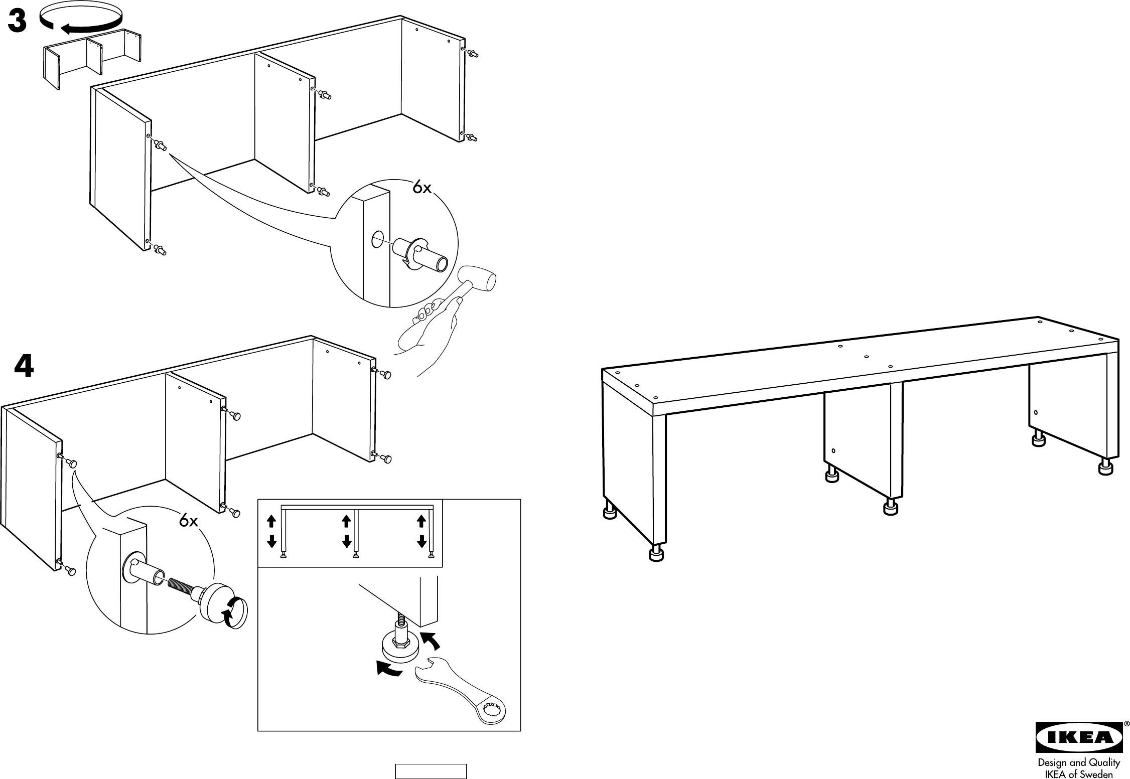 bedienungsanleitung ikea borghamn tv meubel seite 1 von 2 d nisch deutsch englisch. Black Bedroom Furniture Sets. Home Design Ideas