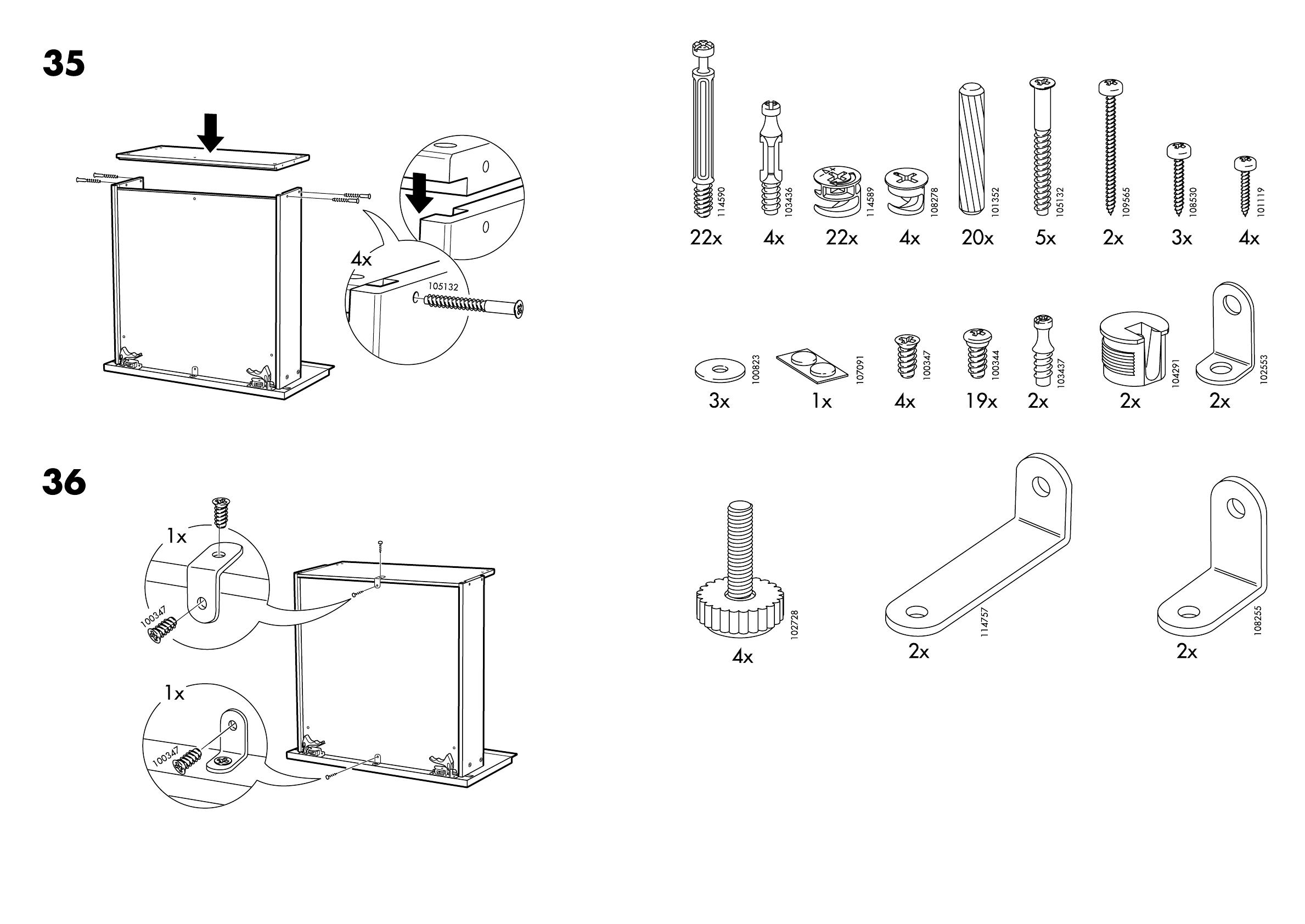 bedienungsanleitung ikea bravad seite 5 von 14 d nisch deutsch englisch spanisch. Black Bedroom Furniture Sets. Home Design Ideas