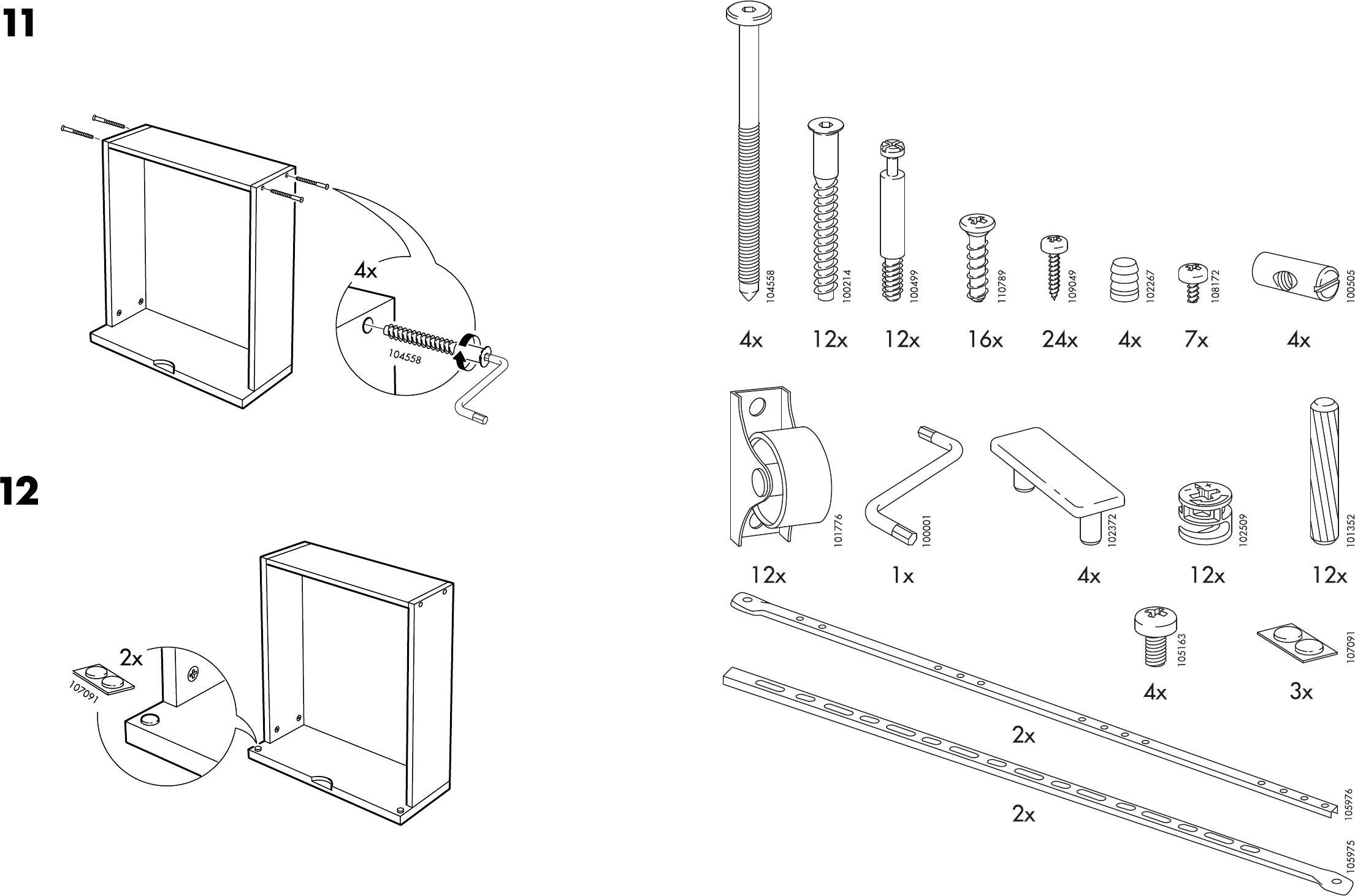 bedienungsanleitung ikea brekke bed seite 3 von 6 d nisch spanisch franz sisch italienisch. Black Bedroom Furniture Sets. Home Design Ideas