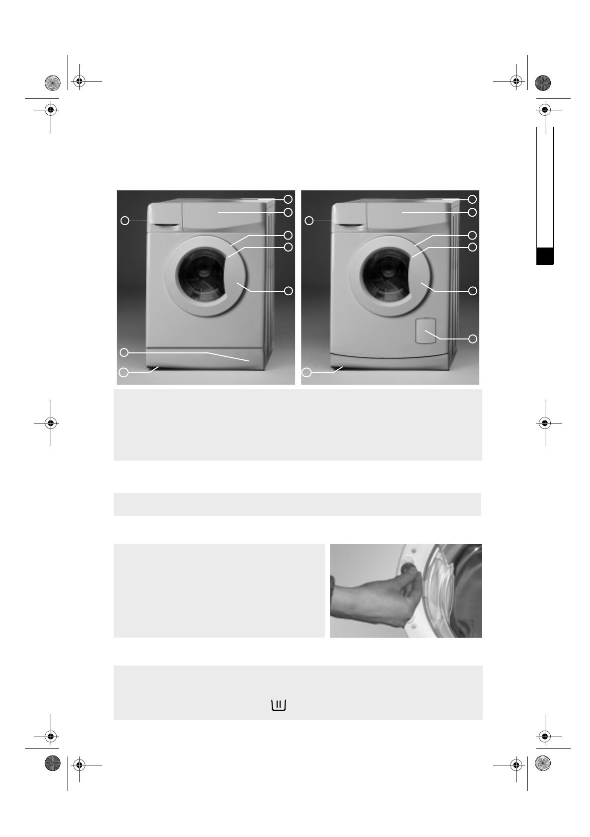 Bedienungsanleitung Whirlpool awo 5340 (Seite 1 von 13) (Deutsch ...