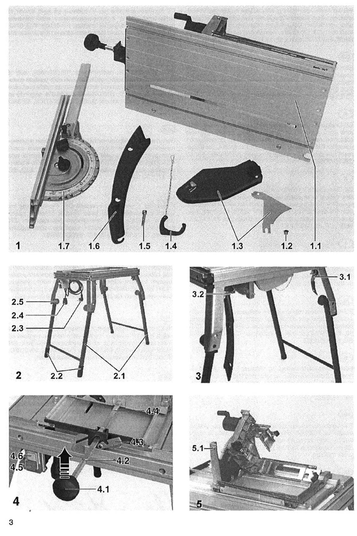 Wonderbaar Bedienungsanleitung Festool Basis 1A (Seite 5 von 59) (Dänisch JF-29