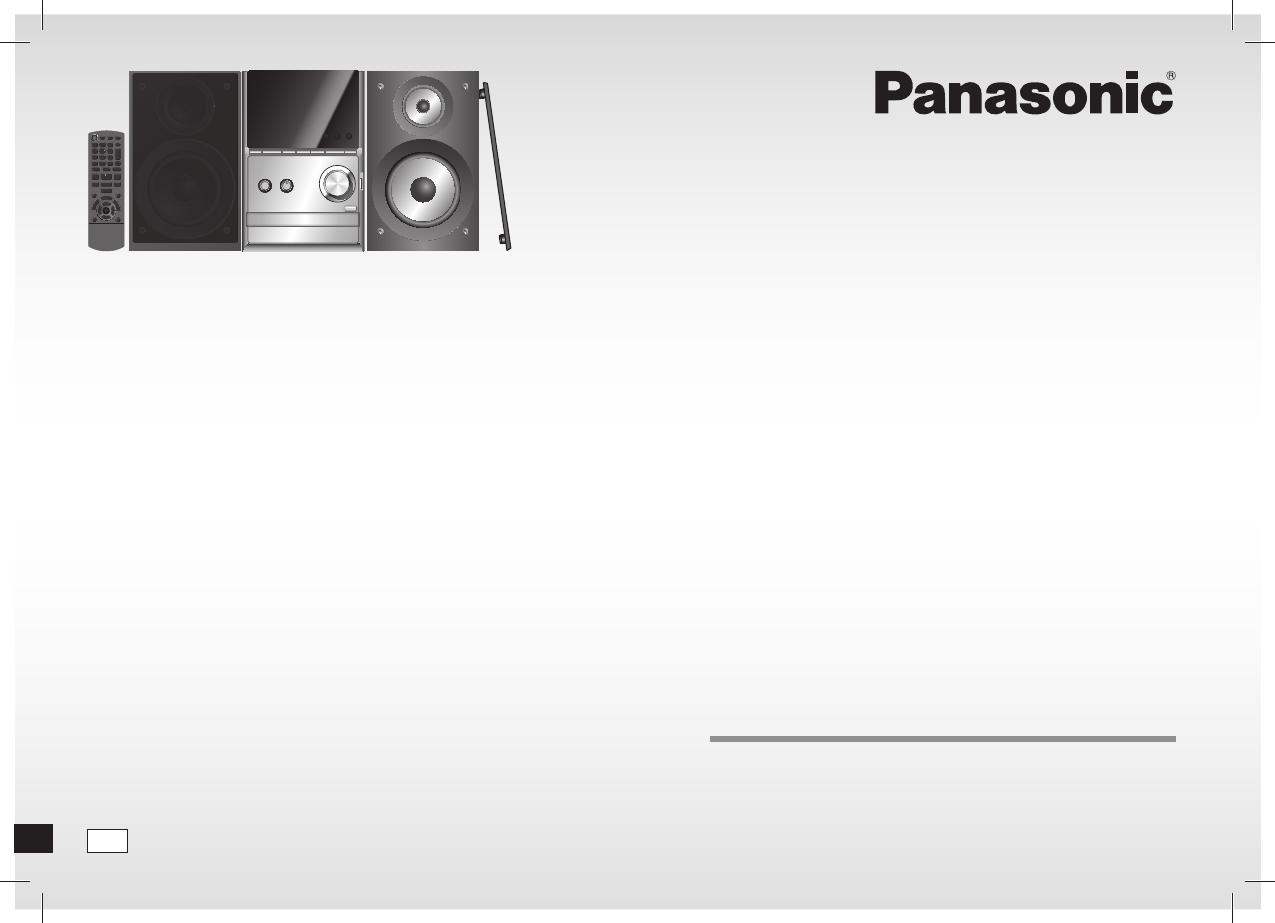 Bedienungsanleitung Panasonic Sc Pm500 Seite 1 Von 80 Deutsch Hollandisch Danisch Franzosisch Italienisch Spanisch Schwedisch