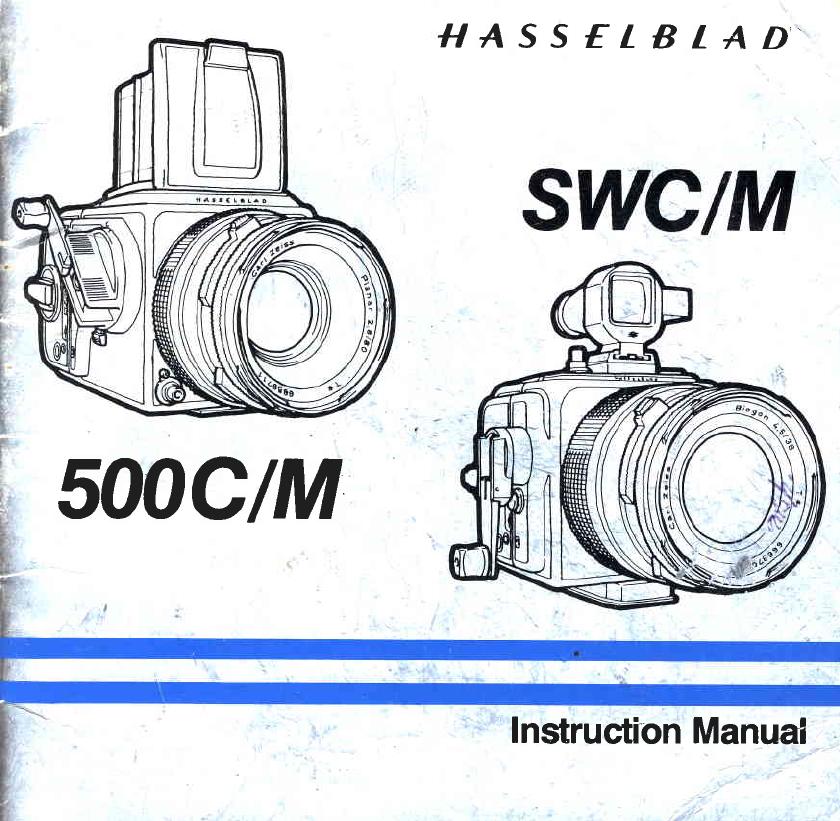 Bedienungsanleitung Hasselblad 500 cm (Seite 1 von 28