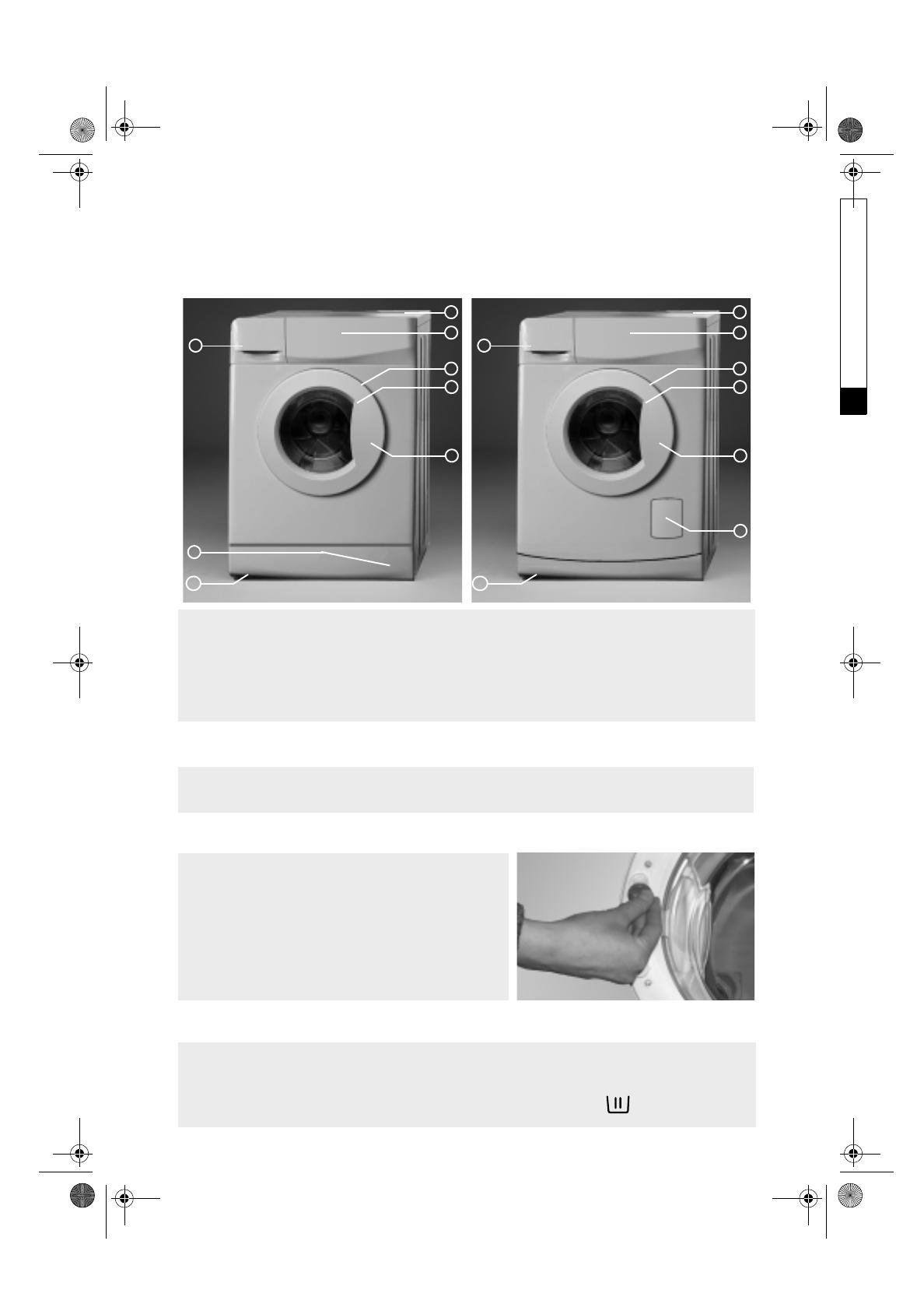 bedienungsanleitung bauknecht wak 12 seite 4 von 13 holl ndisch. Black Bedroom Furniture Sets. Home Design Ideas