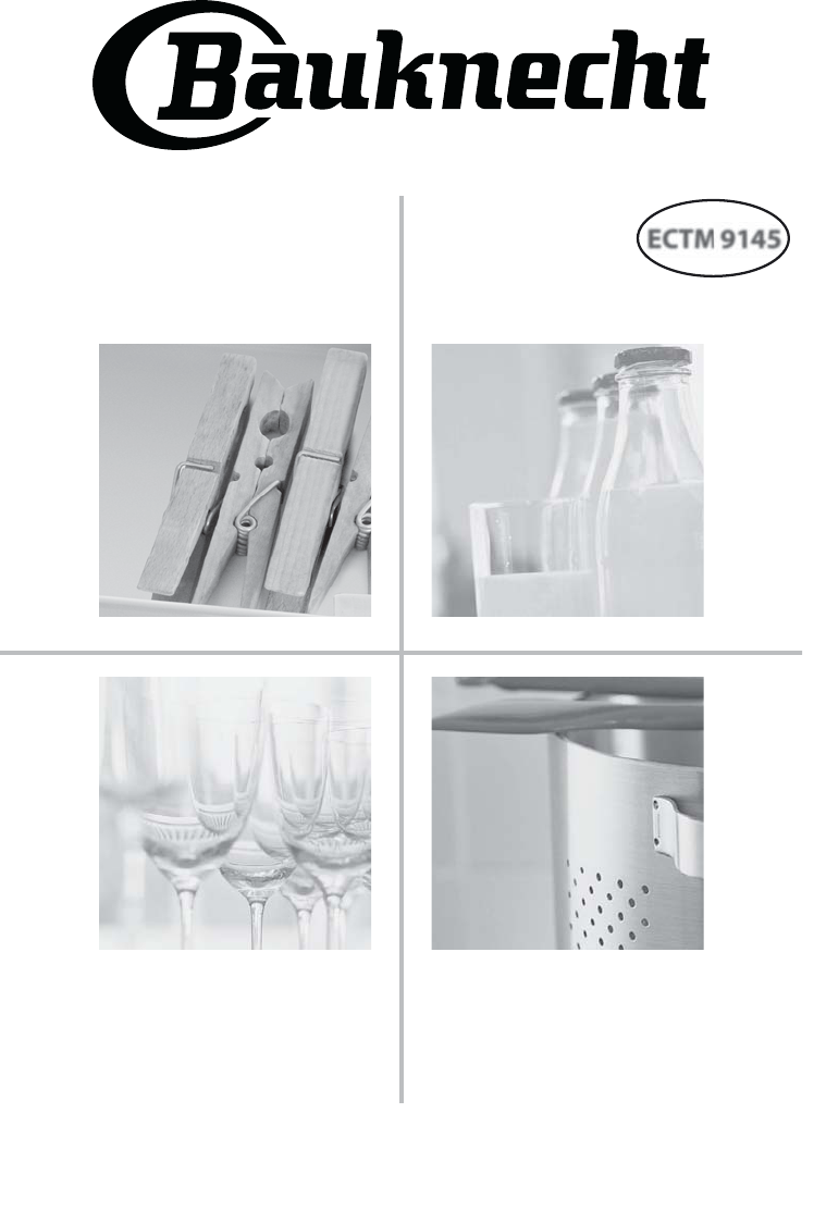 bedienungsanleitung bauknecht ectm 9145 seite 1 von 56 deutsch. Black Bedroom Furniture Sets. Home Design Ideas