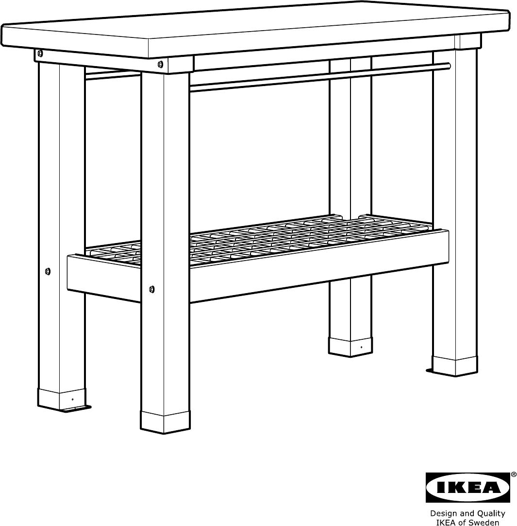 Werkbank Ikea