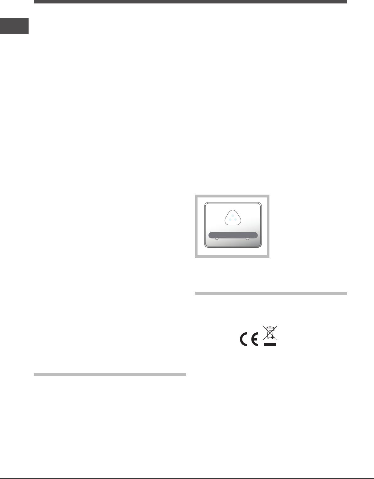 Bedienungsanleitung Hotpoint-Ariston E4D AA B C Quadrio (Seite 31 ...