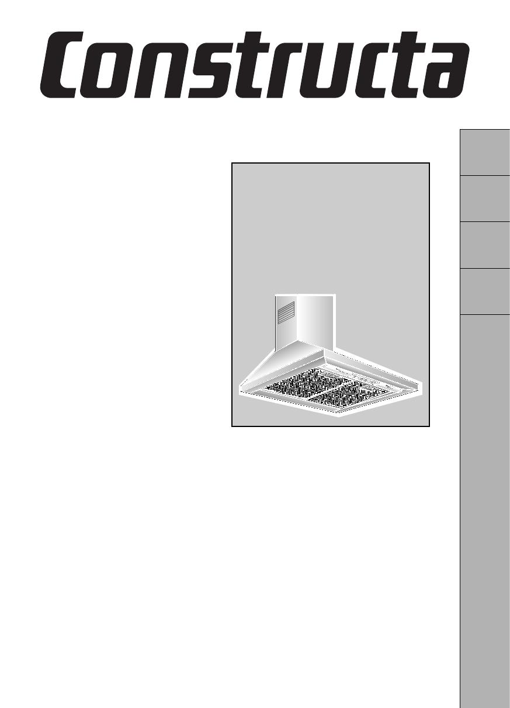 bedienungsanleitung constructa cd 66110 seite 1 von 48. Black Bedroom Furniture Sets. Home Design Ideas