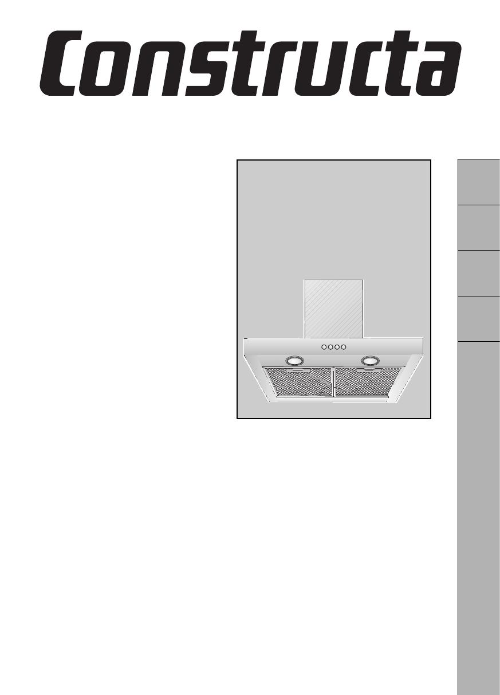 bedienungsanleitung constructa cd 67750 seite 1 von 48 deutsch franz sisch italienisch. Black Bedroom Furniture Sets. Home Design Ideas