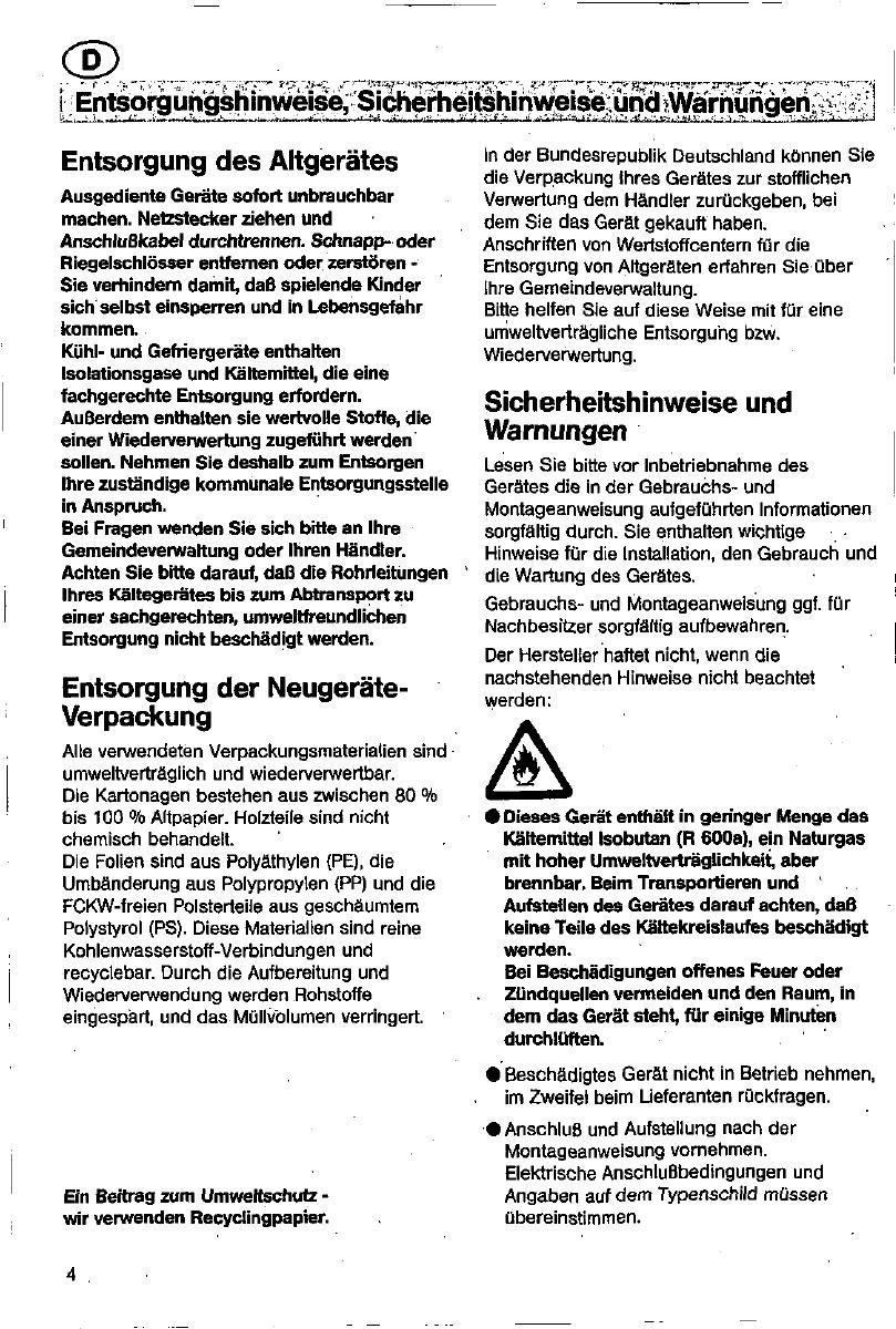 Bedienungsanleitung Constructa Ck33 Seite 4 Von 70