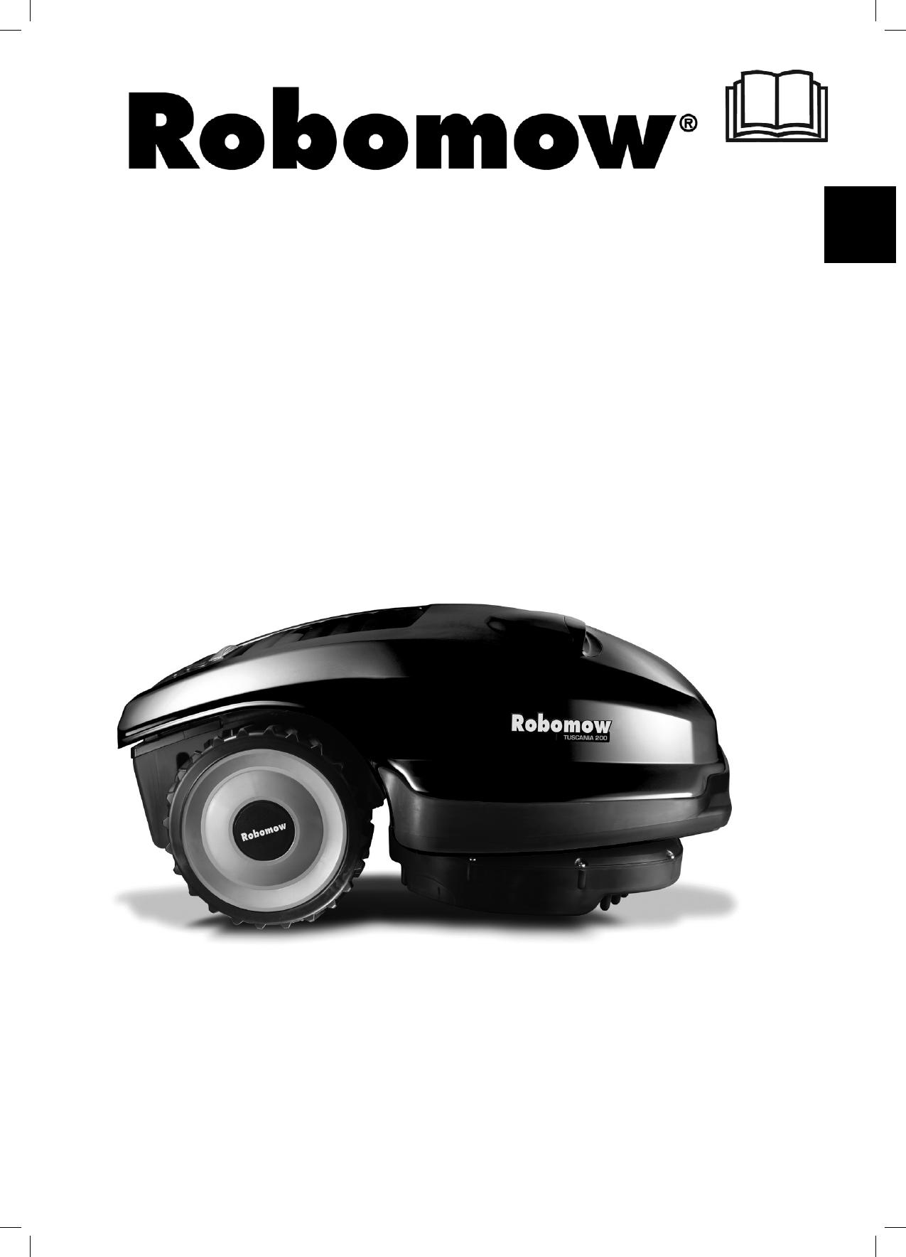 bedienungsanleitung robomow tuscania 200 seite 1 von 214 deutsch englisch franz sisch. Black Bedroom Furniture Sets. Home Design Ideas
