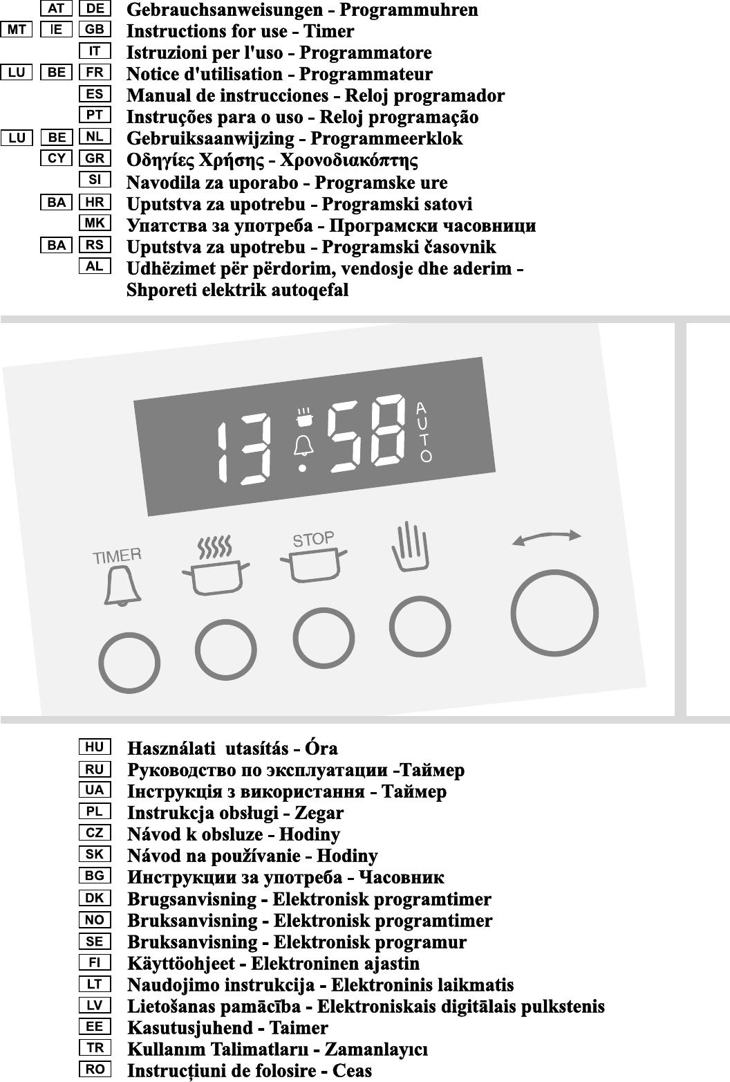 Bedienungsanleitung Gorenje b 7460 (Seite 1 von 44) (Deutsch ...