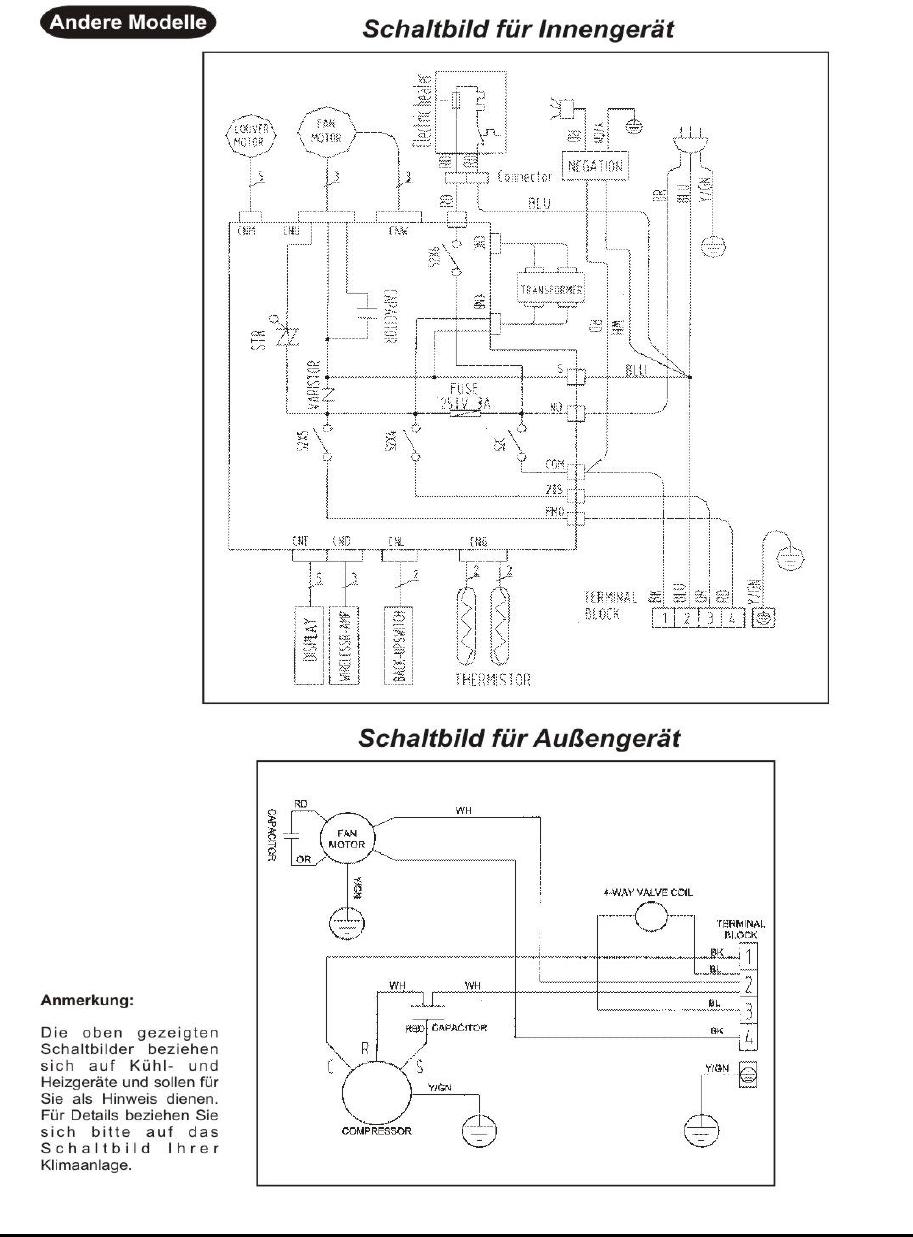 Berühmt Schaltplan Für Klimaanlage Des Autos Fotos - Die Besten ...