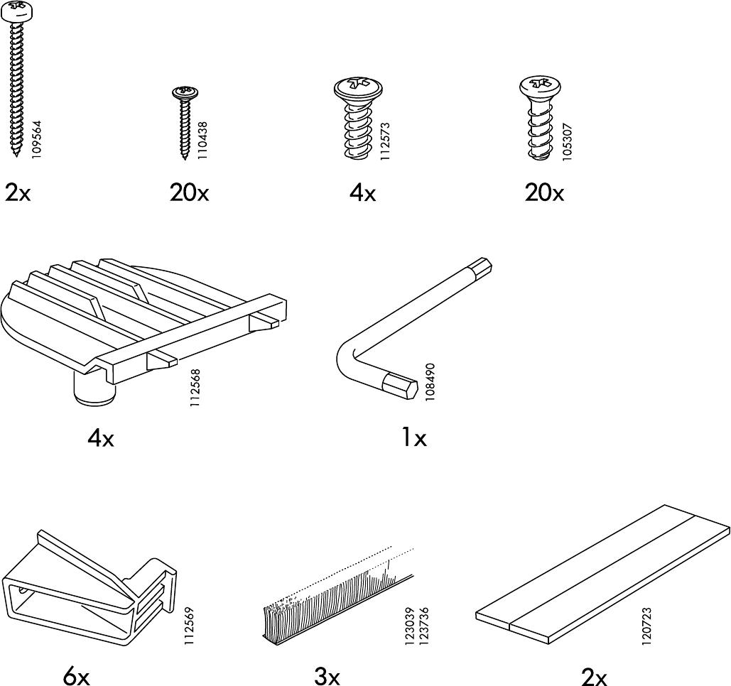 bedienungsanleitung ikea pax hasvik 150 seite 3 von 28 d nisch deutsch englisch spanisch. Black Bedroom Furniture Sets. Home Design Ideas