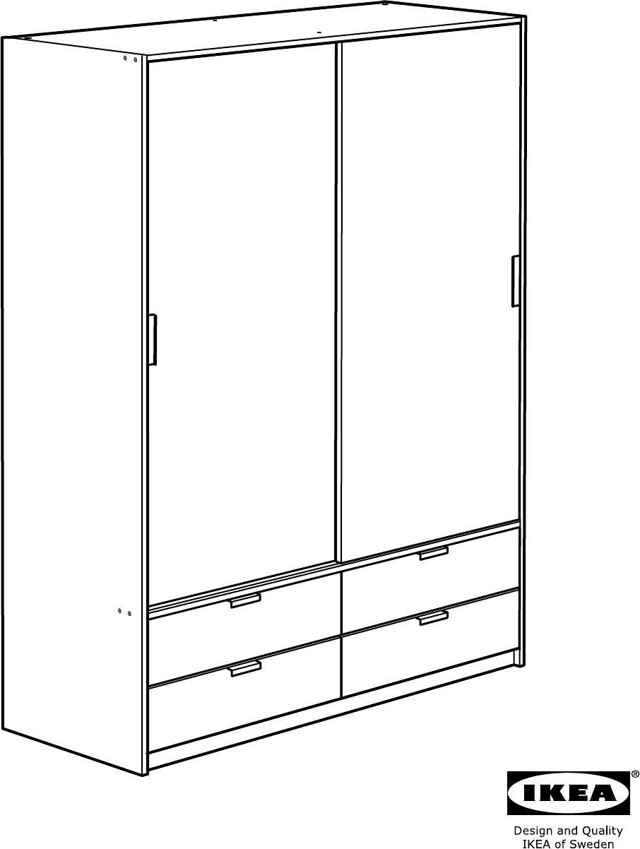 Bedienungsanleitung Ikea TRYSIL (Seite 1 von 44) (Dänisch, Deutsch ...