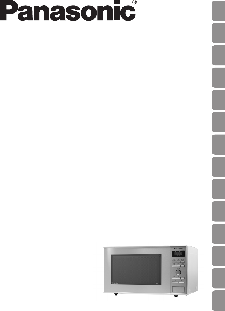 Bedienungsanleitung Panasonic Nn Gd371s Seite 1 Von 31 Deutsch