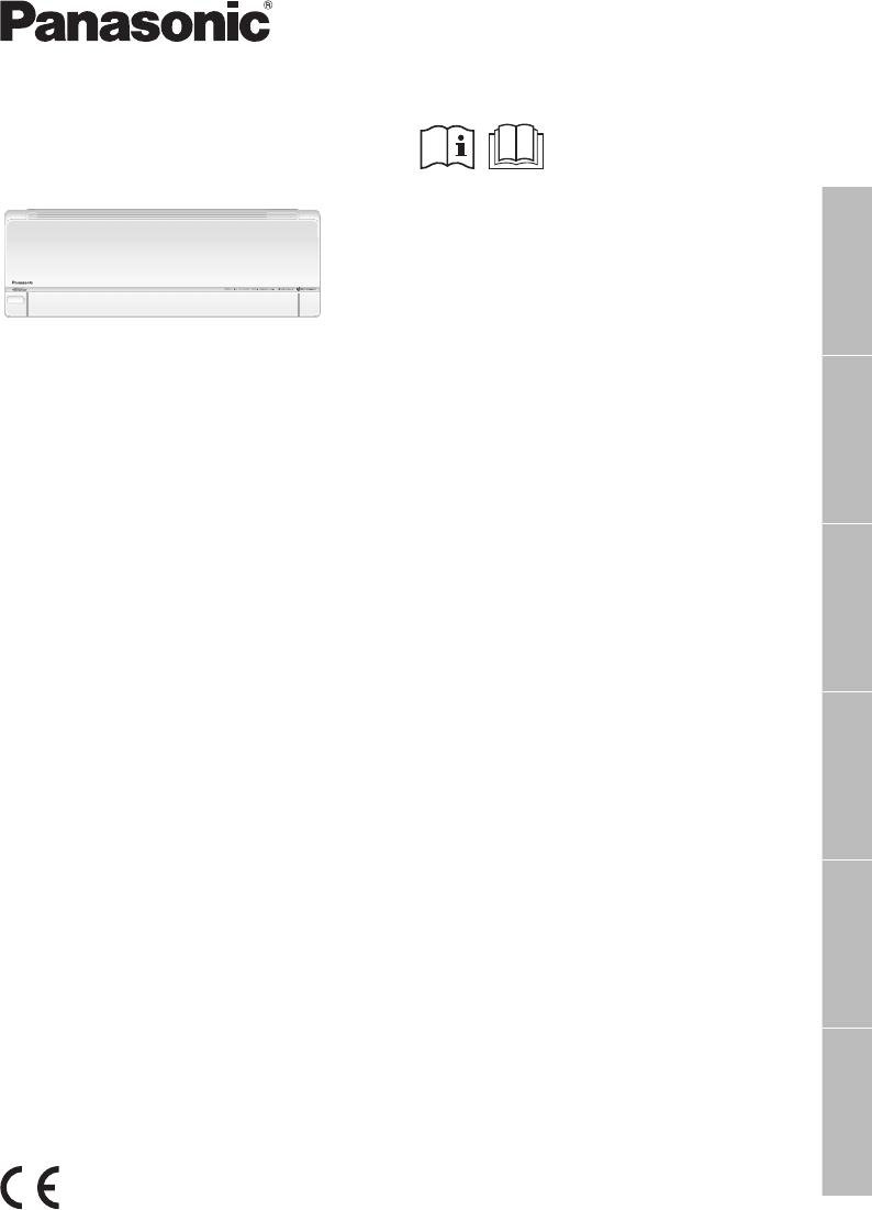 Bedienungsanleitung Panasonic CS-E9PKEW (Seite 1 von 64
