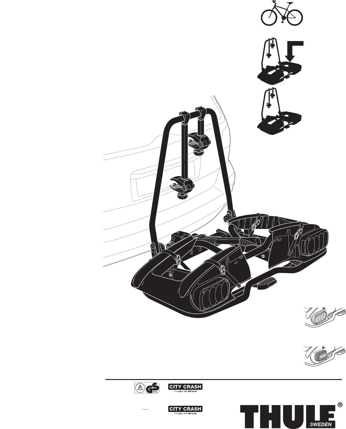 bedienungsanleitung thule europower 915 seite 1 von 16. Black Bedroom Furniture Sets. Home Design Ideas