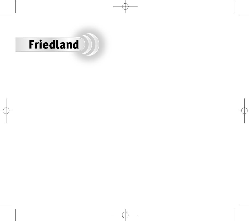 Bedienungsanleitung Friedland D942s Libra Plus Seite 1 Von 69 Bell Wiring Diagram