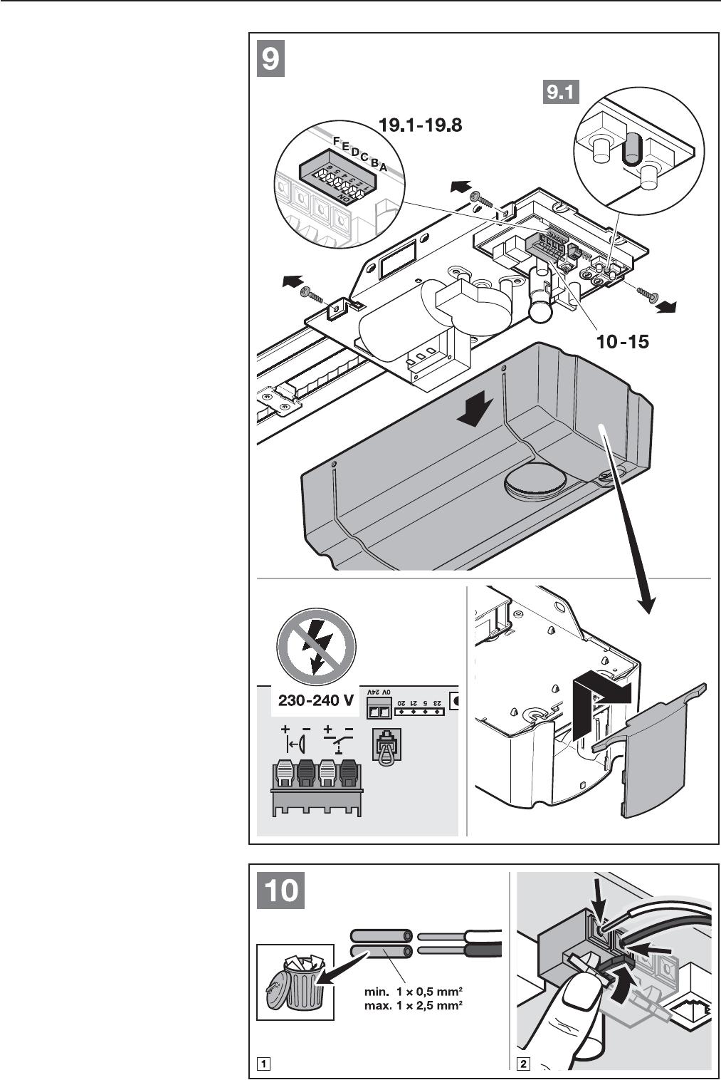 Häufig Bedienungsanleitung Hormann ProMatic 3 (Seite 27 von 124) (Deutsch EF55