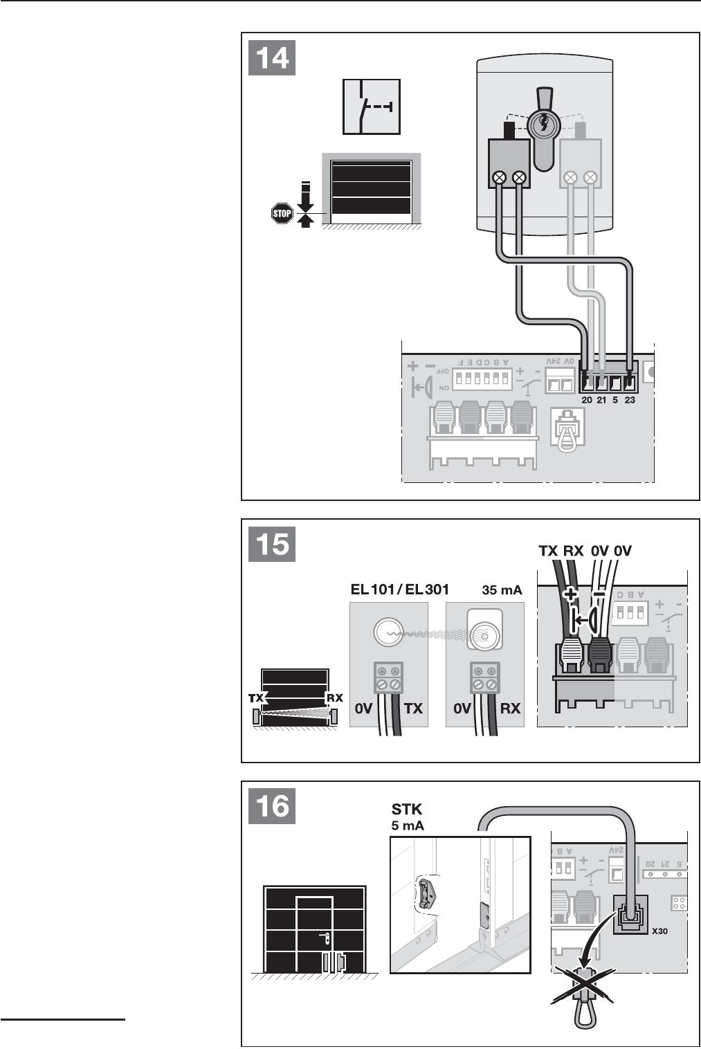 bedienungsanleitung hormann promatic 3 seite 27 von 124. Black Bedroom Furniture Sets. Home Design Ideas
